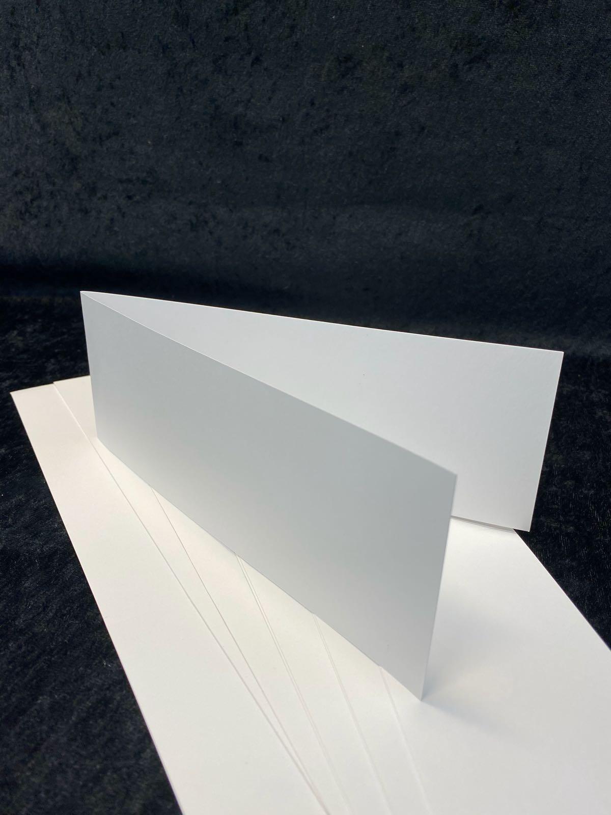Slimcard base hvit. TILBUD: 10 stk. kun kr 25,-