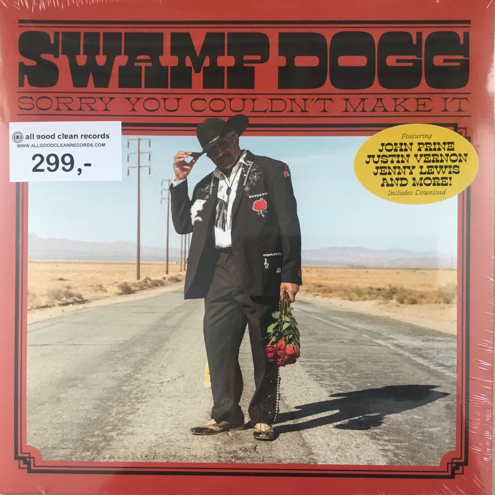 Swamp Dogg - Sorry You Couldn't Make It [LP]