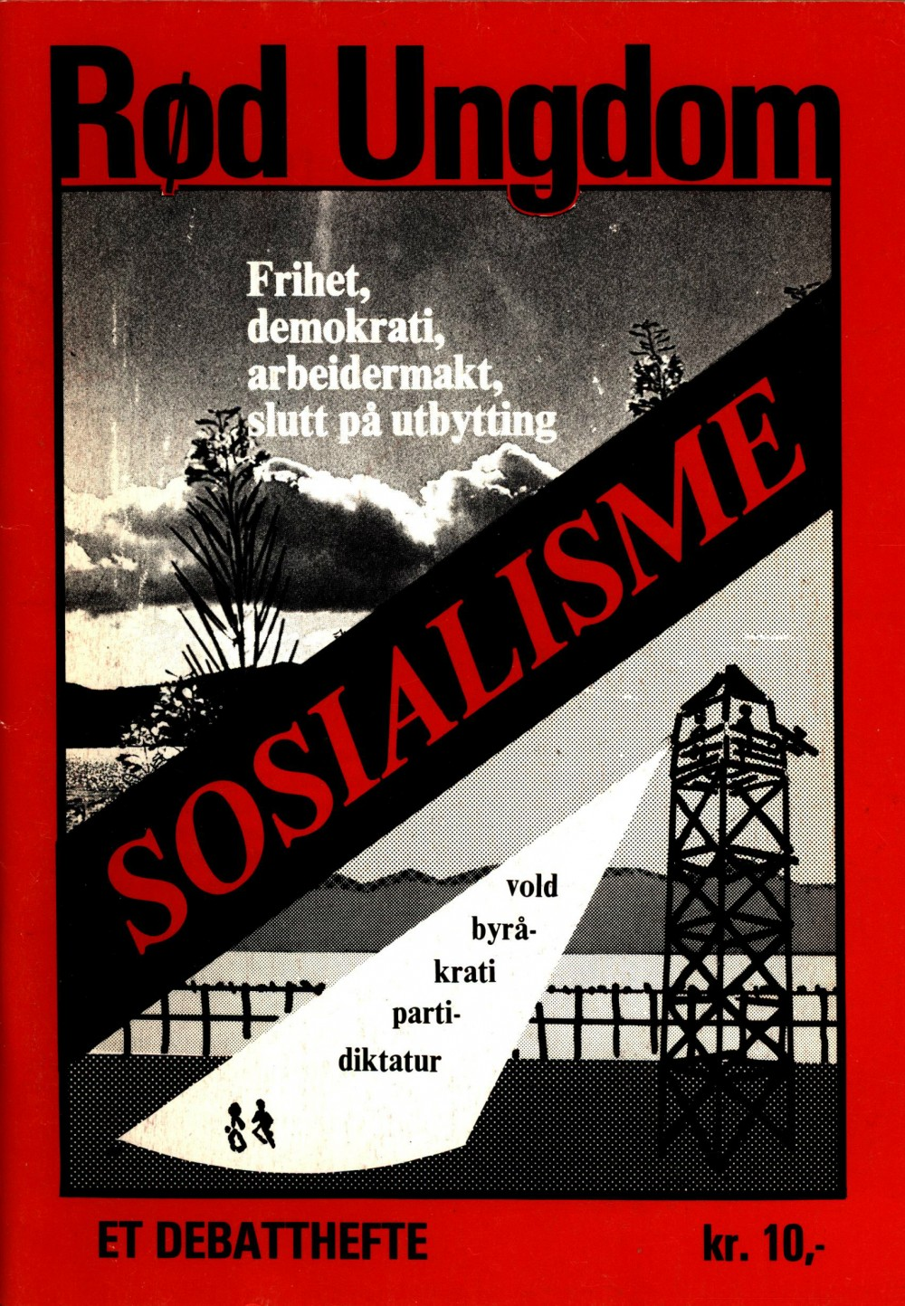 Per Erlandsen (red): Rød Ungdom: Sosialisme
