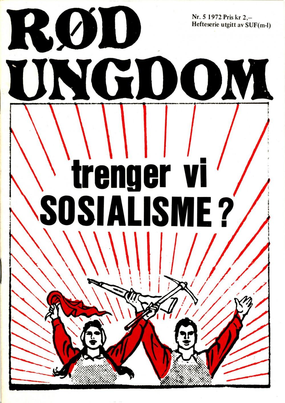 Rød Ungdom: Trenger vi sosialisme?