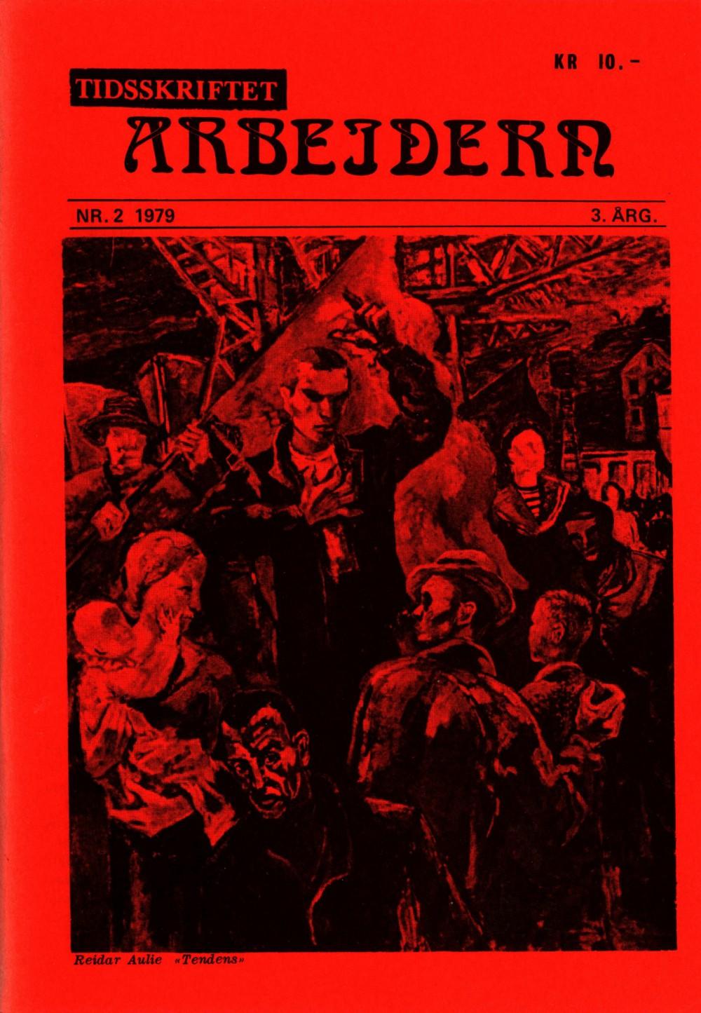 Tidsskriftet Arbeidern - nr. 2 1979