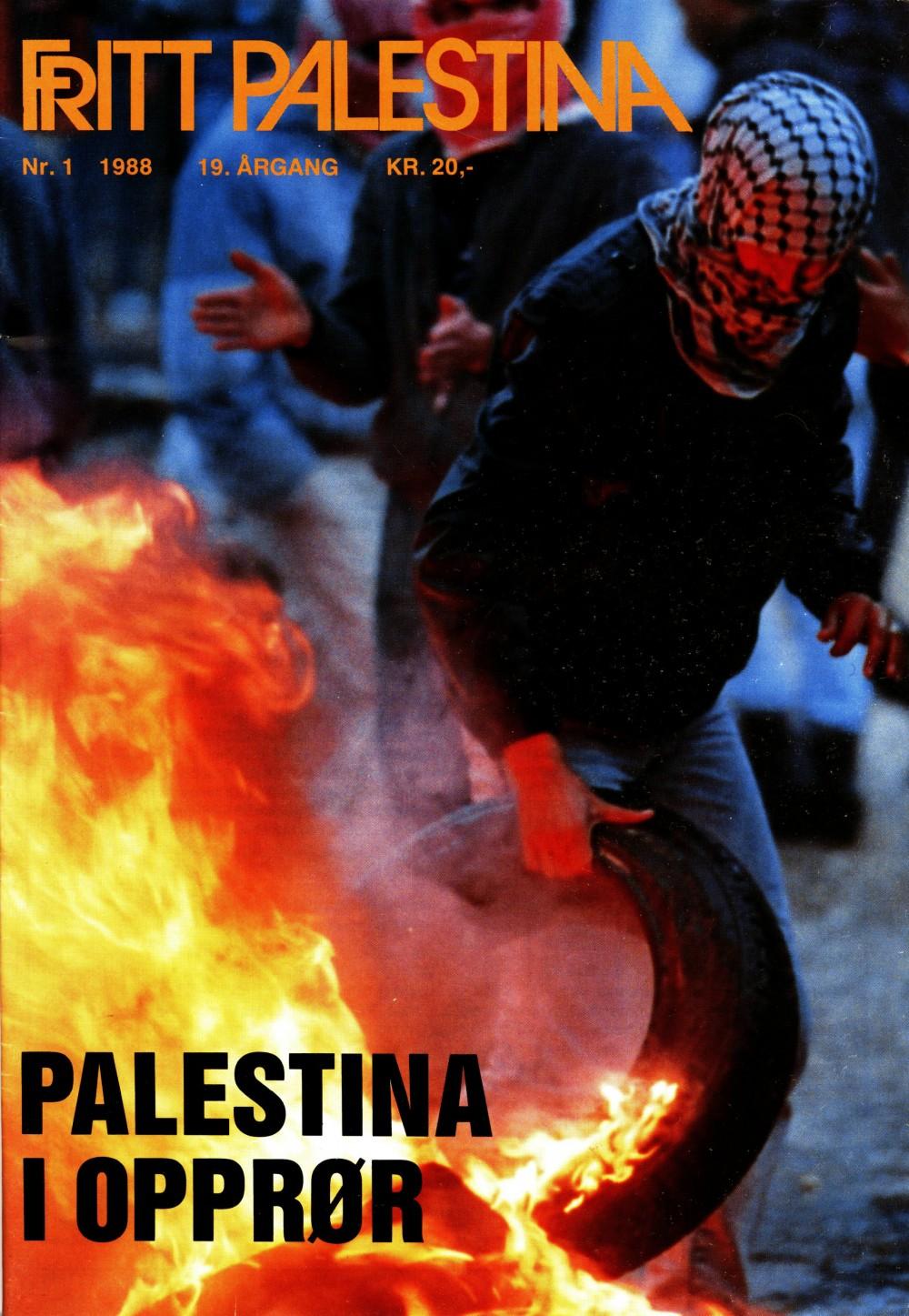 Fritt Palestina - nr. 1 1988