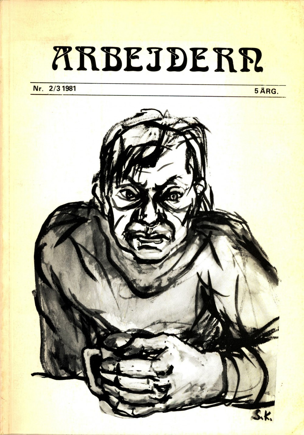 Tidsskriftet Arbeidern - nr. 2/3 1981