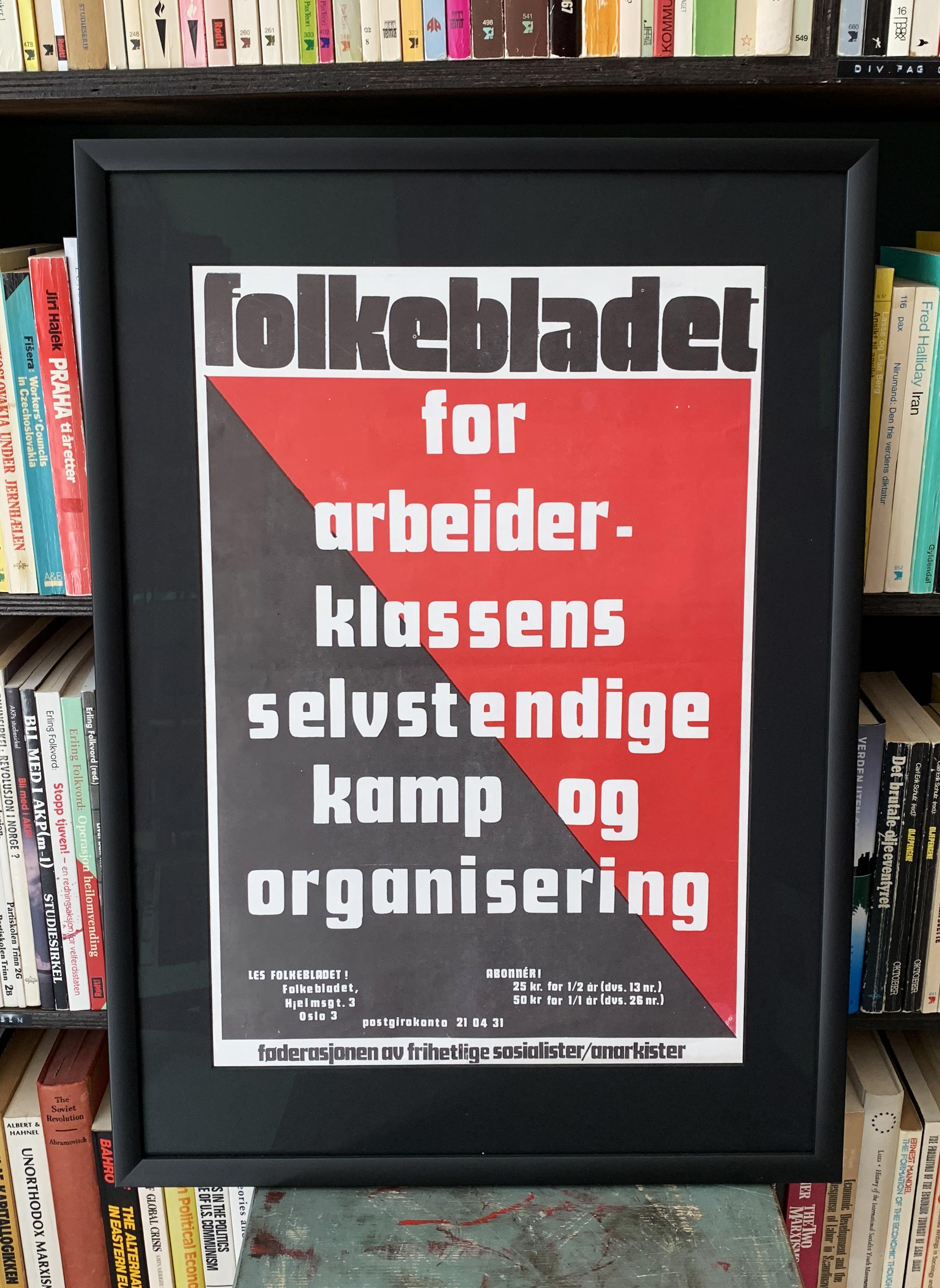 Folkebladet - For arbeiderklassens selvstendige kamp og organisering (ca. 1974)