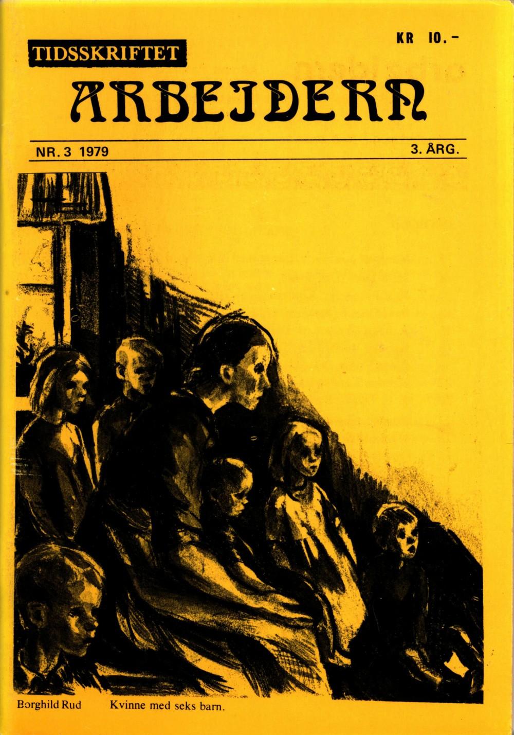 Tidsskriftet Arbeidern - nr. 3 1979