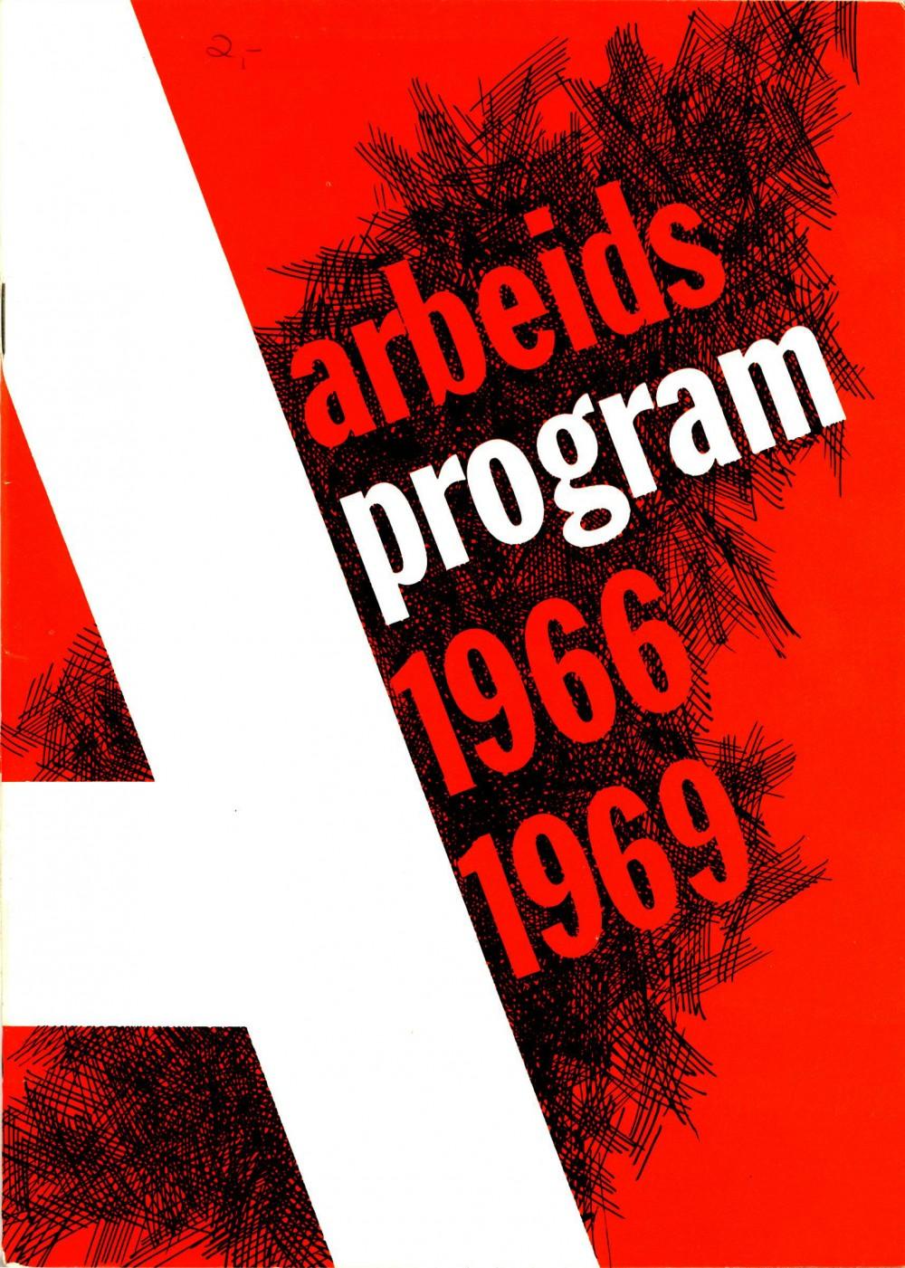 Det Norske Arbeiderparti - Arbeidsprogram 1966-1969