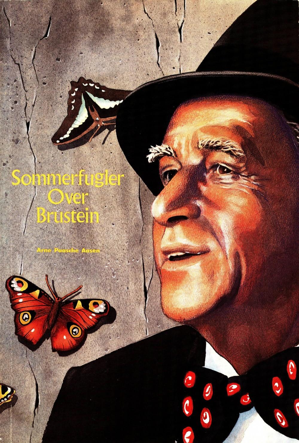 Jan Otto Hauge (red), Bjørn Mikalsen (red): Sommerfugler over brustein - Arbeiderdikteren Arne Paasche Aasen