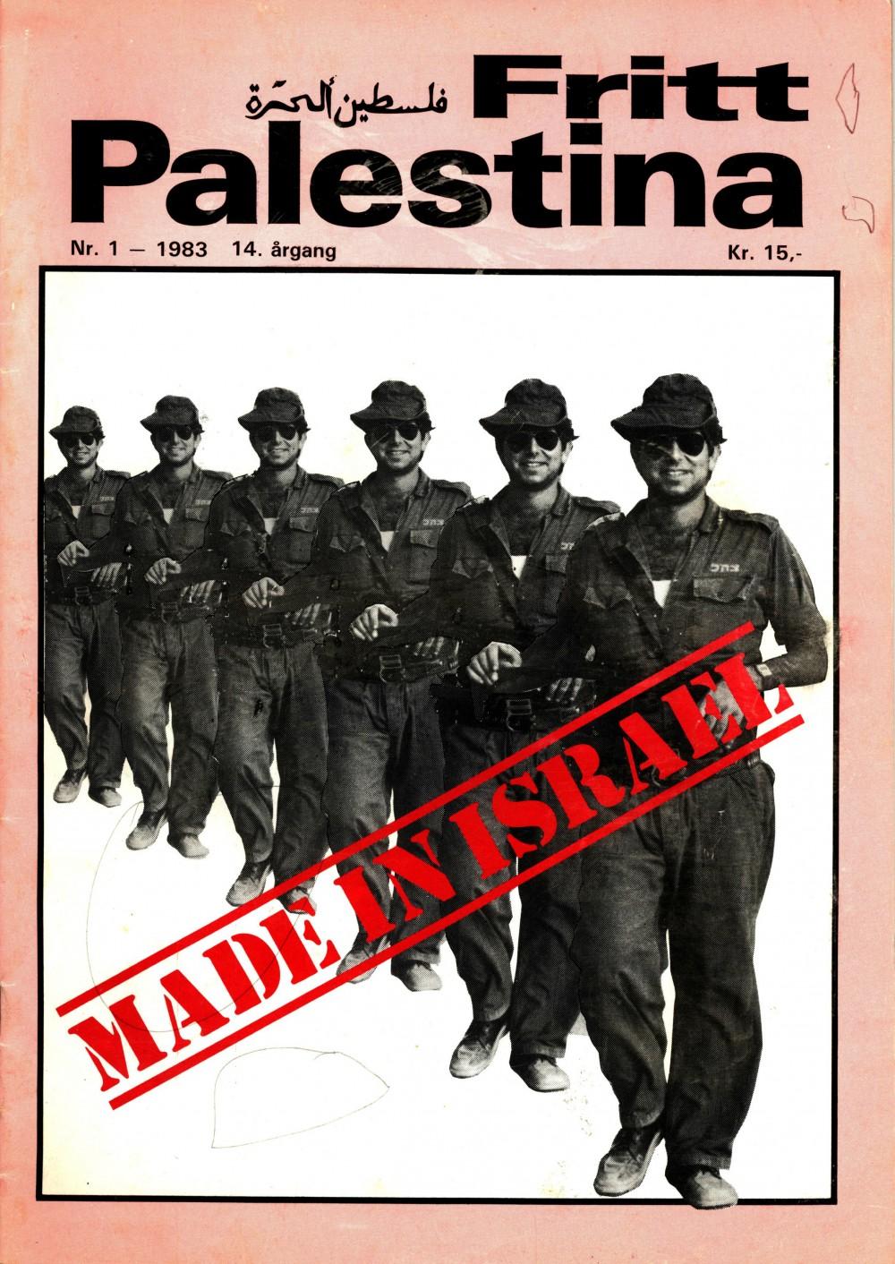 Fritt Palestina - nr. 1 1983
