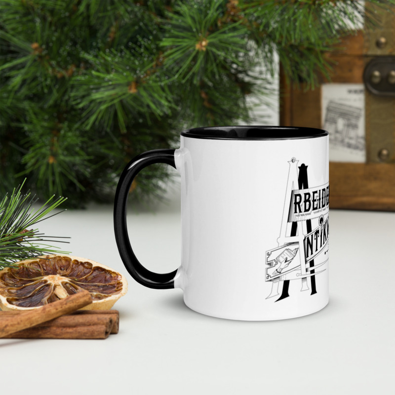 Arbeidernes Antikvariat kaffekopp