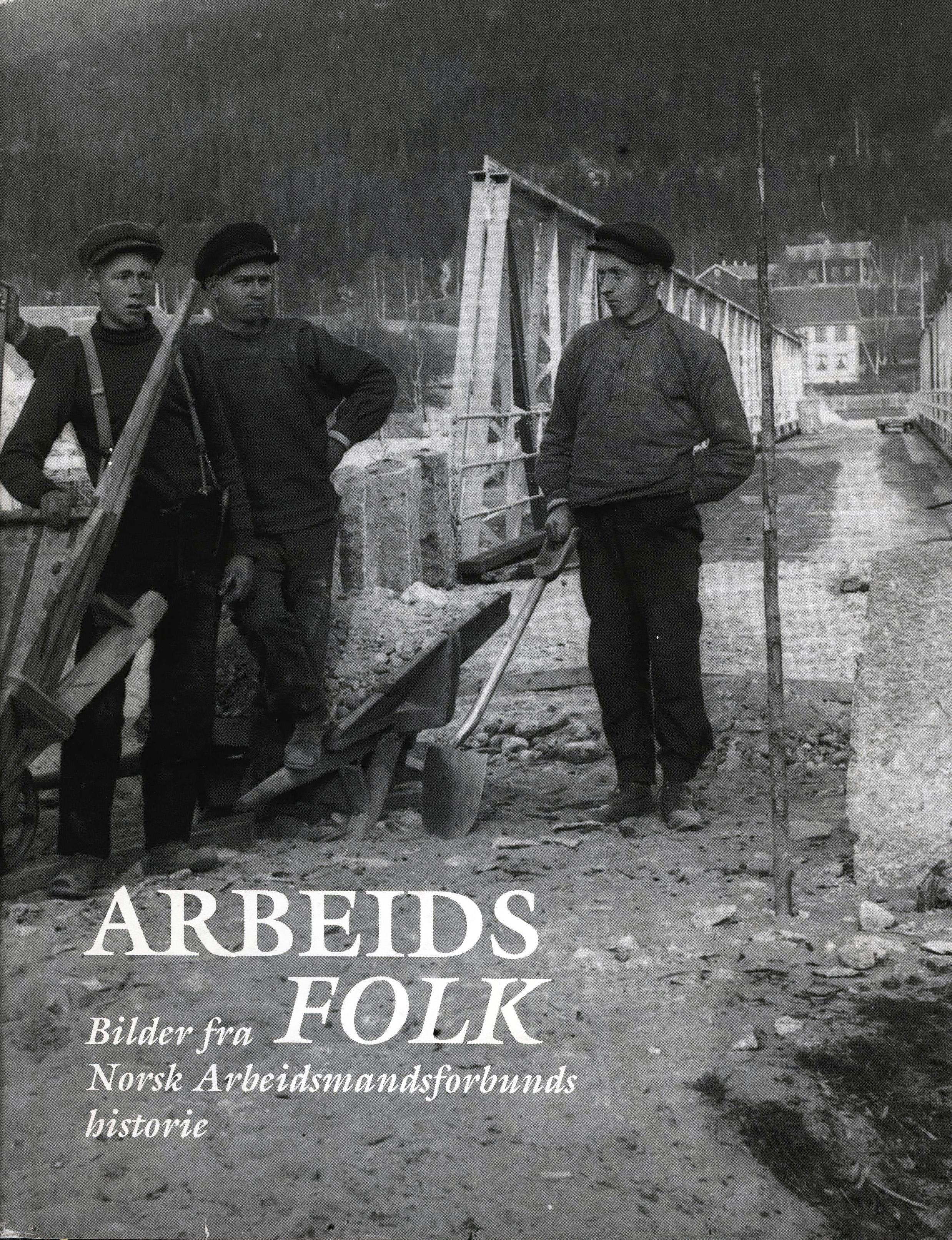 Solveig Halvorsen, Lill-Ann Jensen: Arbeidsfolk - Bilder fra Norsk Arbeidsmandsforbunds historie