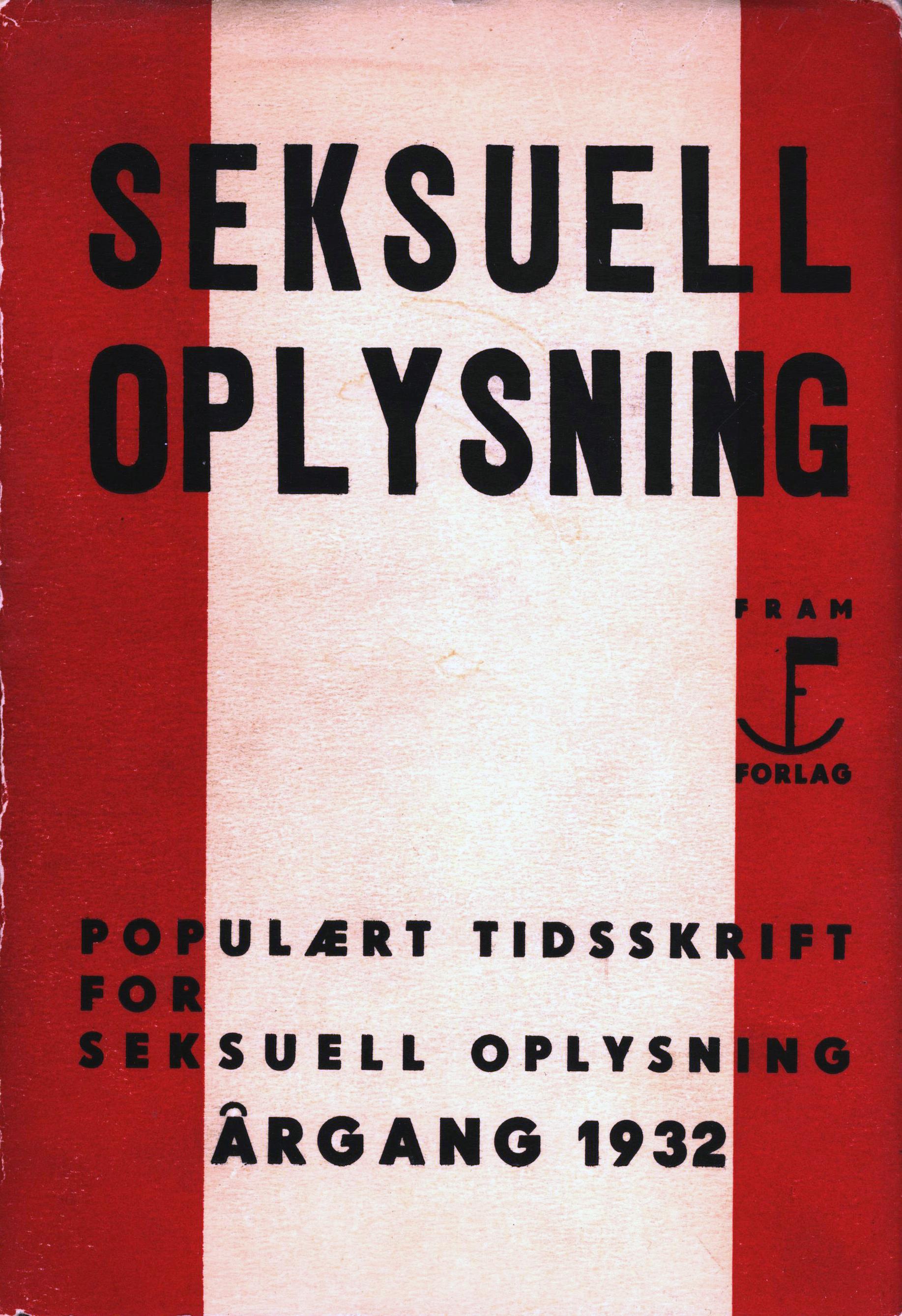 Karl Evang (red), Otto Galtung Hansen (red), Carl Viggo Lange (red): Seksuell opplysning