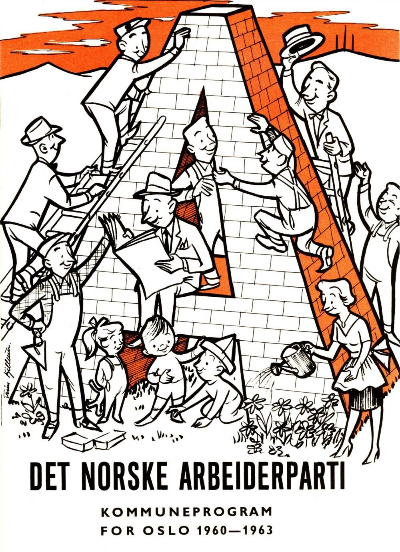 Det Norske Arbeiderparti - Kommuneprogram for Oslo 1960-1963