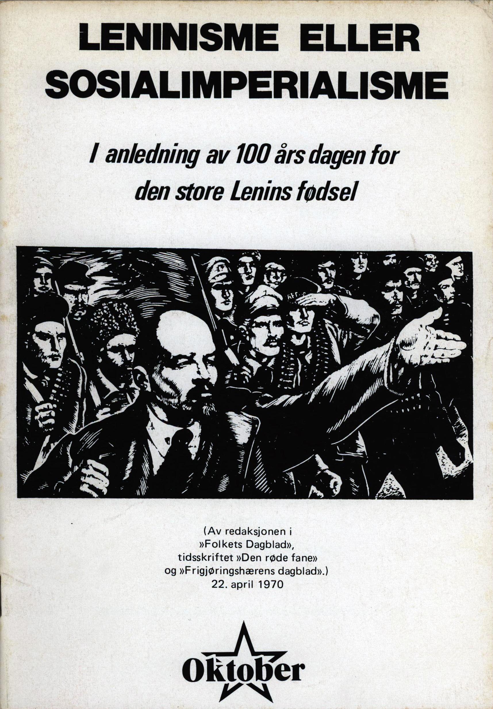 Leninisme eller sosialimperialisme