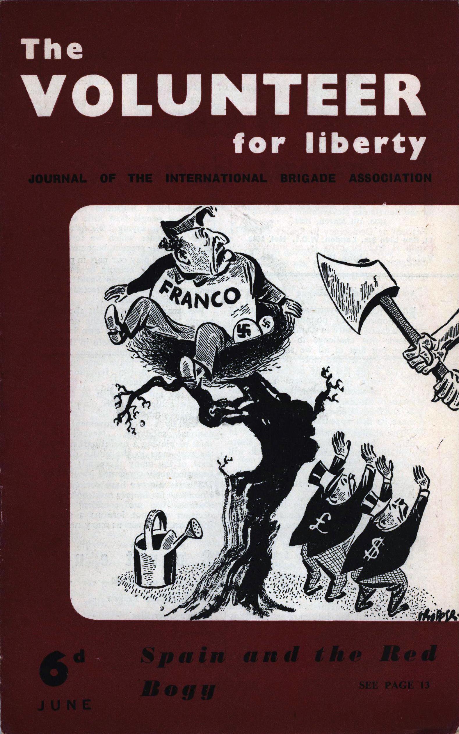 The Volunteer for Liberty 6d June 1946