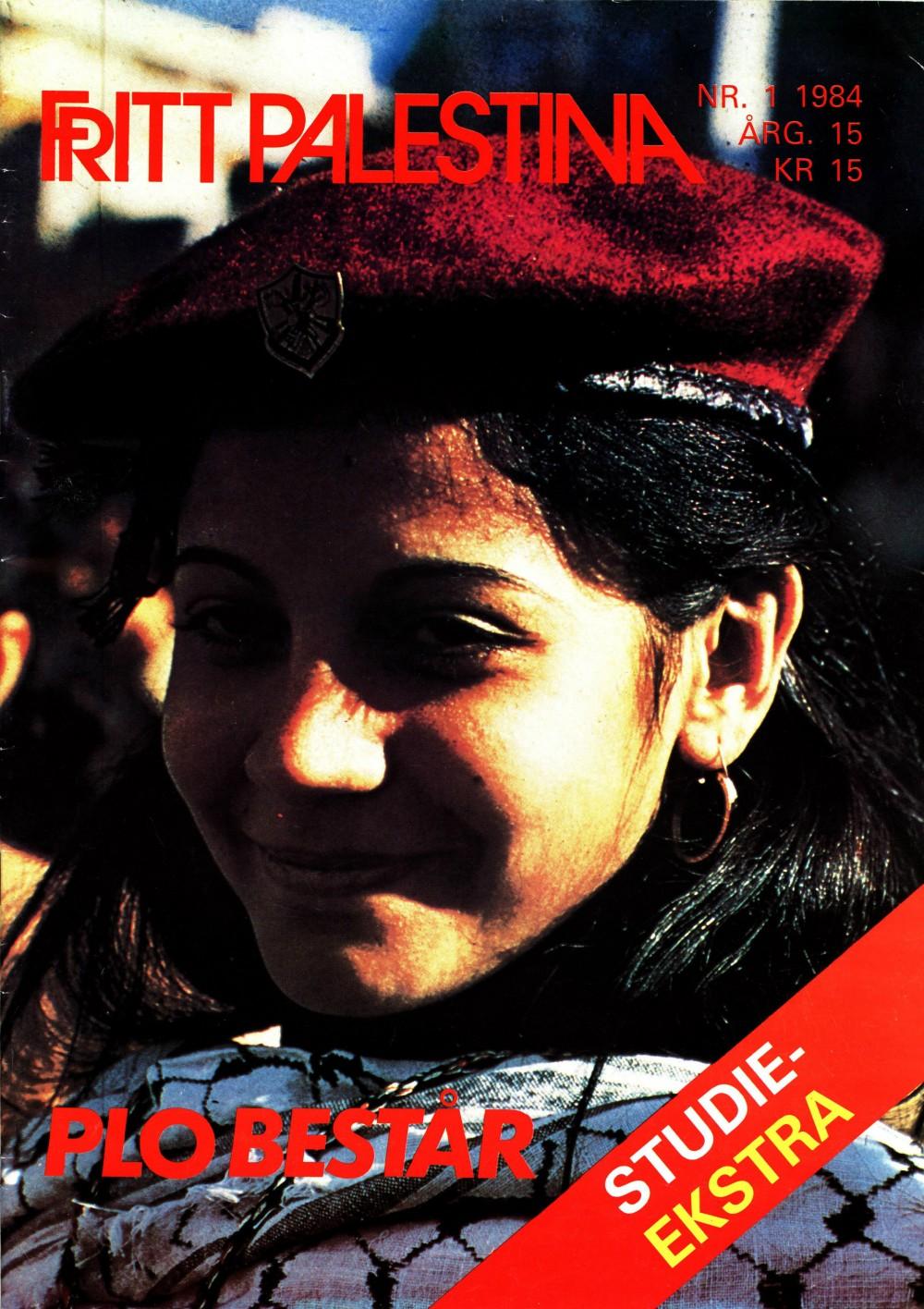 Fritt Palestina - nr. 1 1984