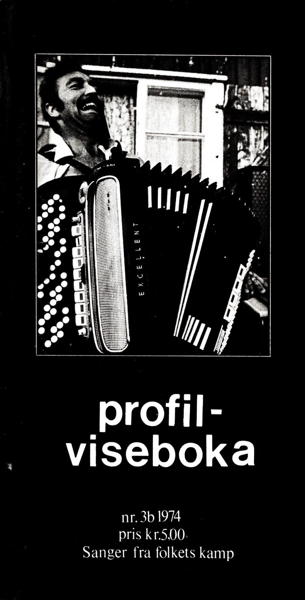 Profil-viseboka - Sanger fra folkets kamp - Profil nr. 3b 1974