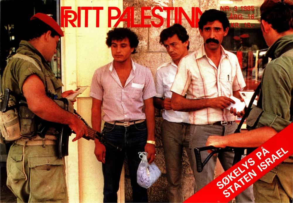 Fritt Palestina - nr. 3 1985