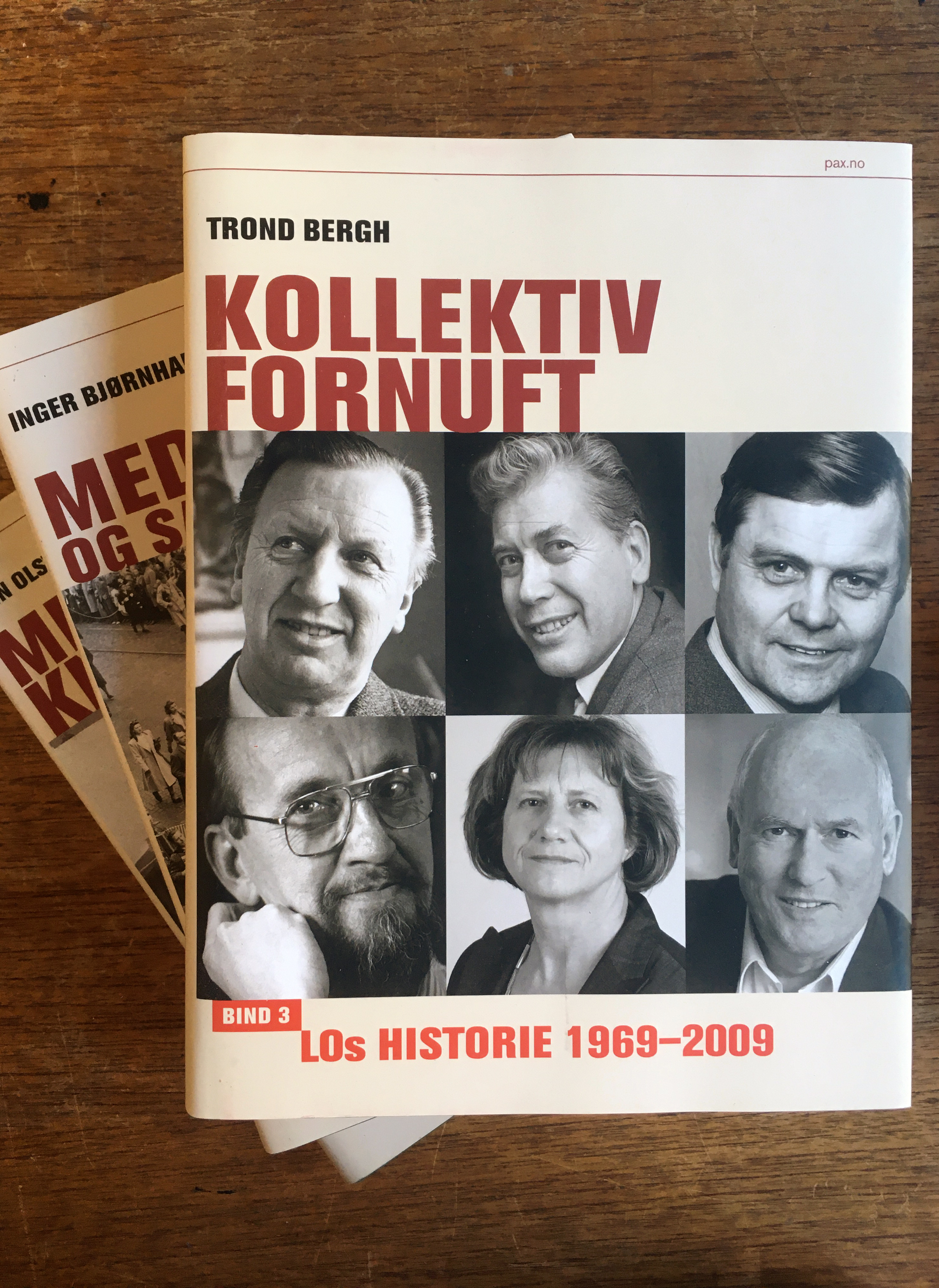 Diverse forfattere: LOs historie 1899-2009 - Bind I-III