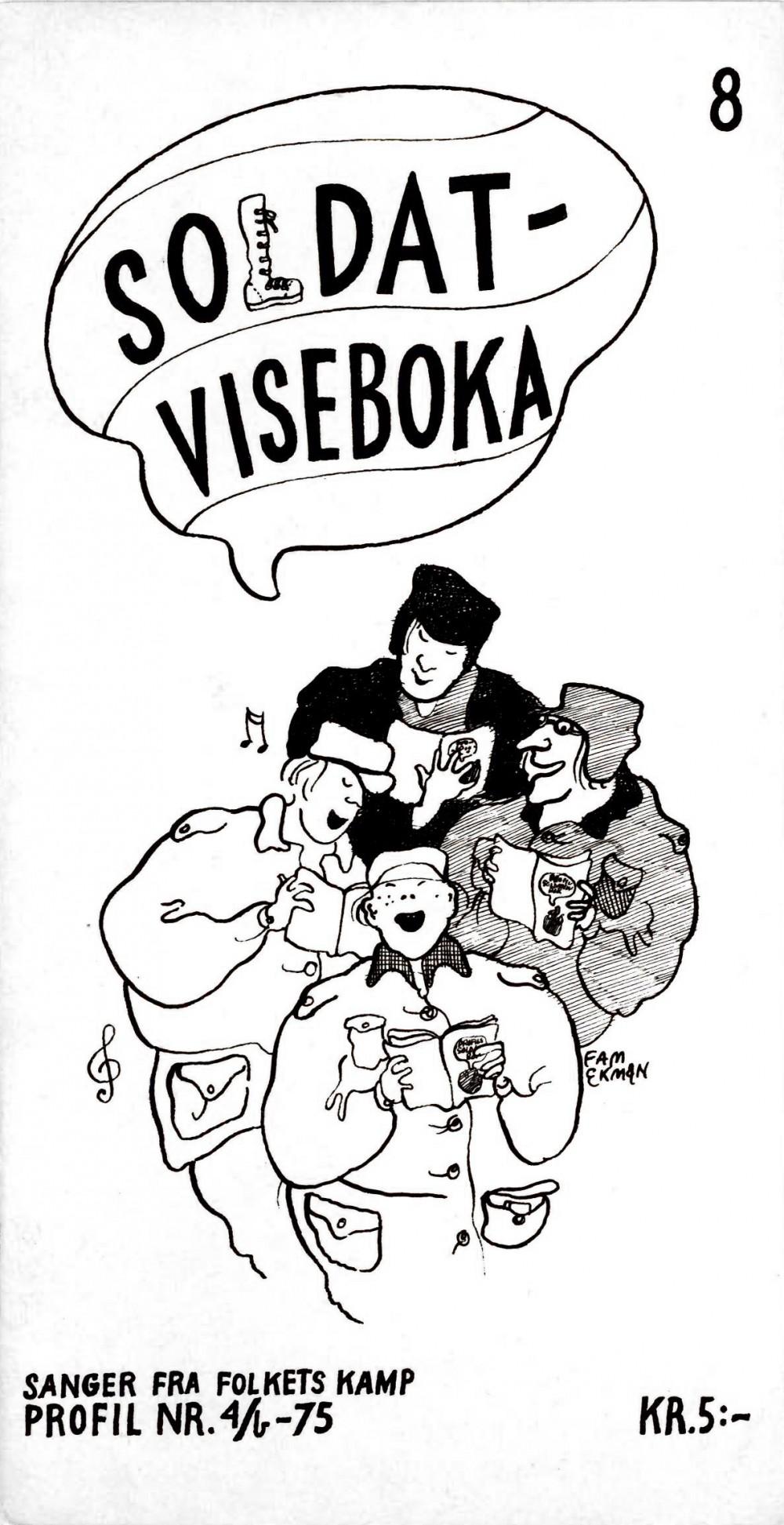 Soldat-viseboka - Sanger fra folkets kamp - Profil nr 4b 1975