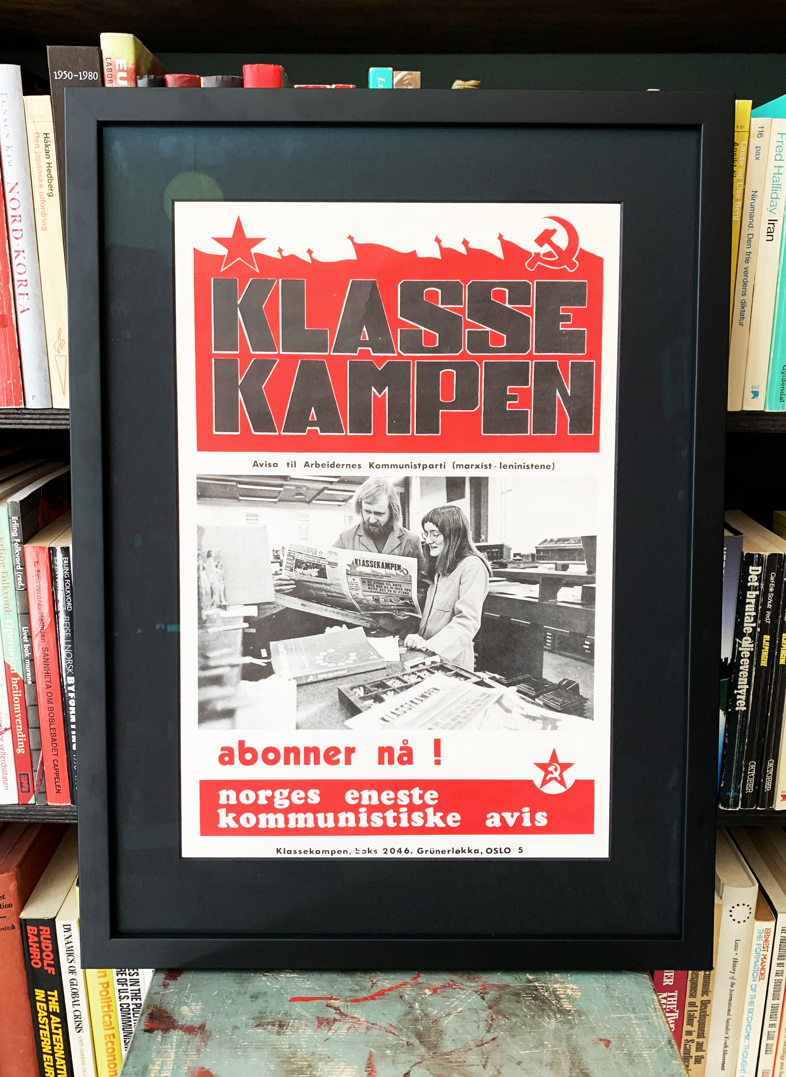 Klassekampen - abonner nå! (ca. 1975)