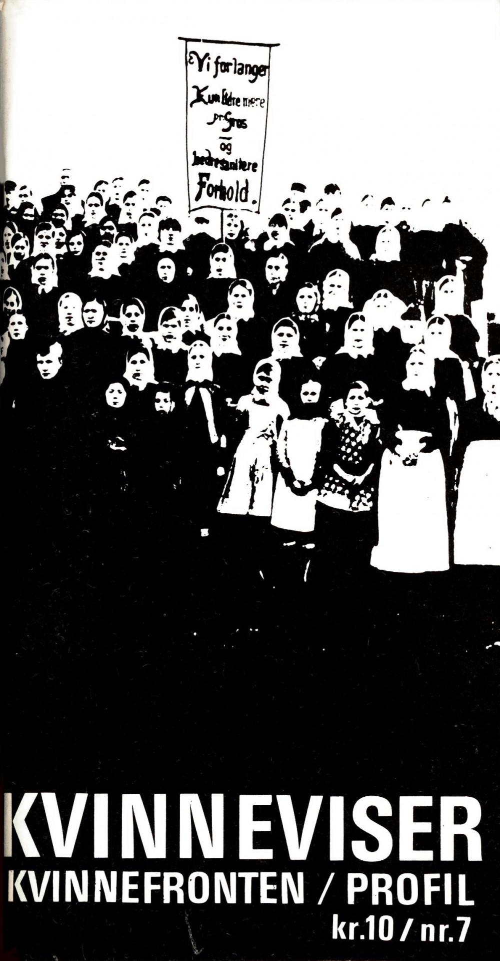 Songar frå folkets kamp - Profil ekstra nr. 2b 1975 - Kvinneviser - Kvinnefronten / Profil