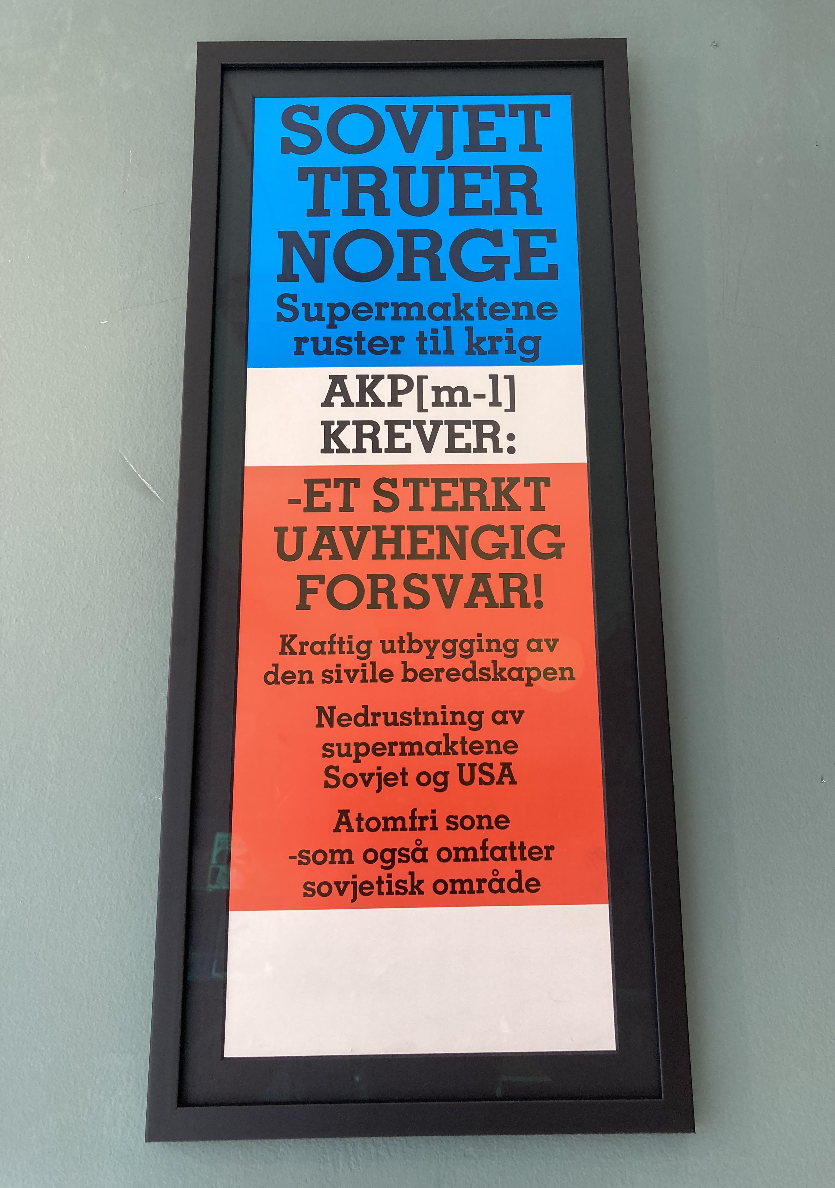 Sovjet truer Norge (ca. 1980)