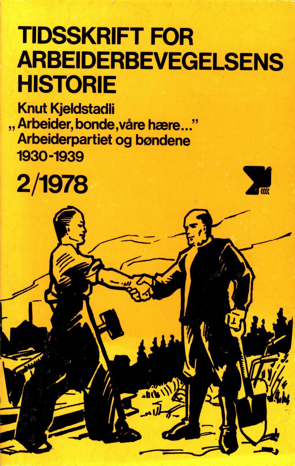 Tidsskrift for arbeiderbevegelsens historie - nr. 2 1978