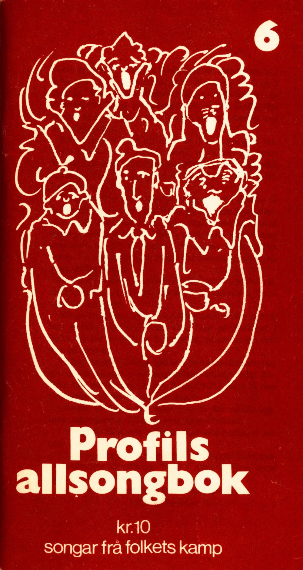 Profils allsongbok - Songar frå folkets kamp - Profil nr. 5b 1974