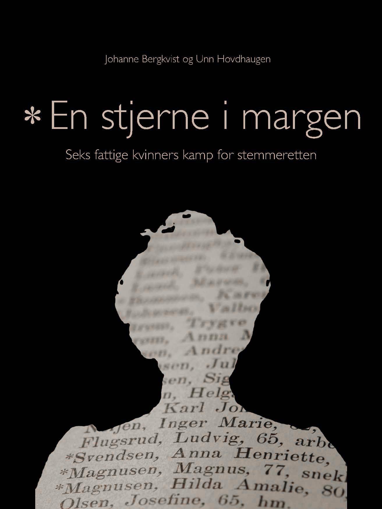 Johanne Bergkvist, Unn Hovdhaugen: En stemme i margen - Seks fattige kvinners kamp for stemmeretten