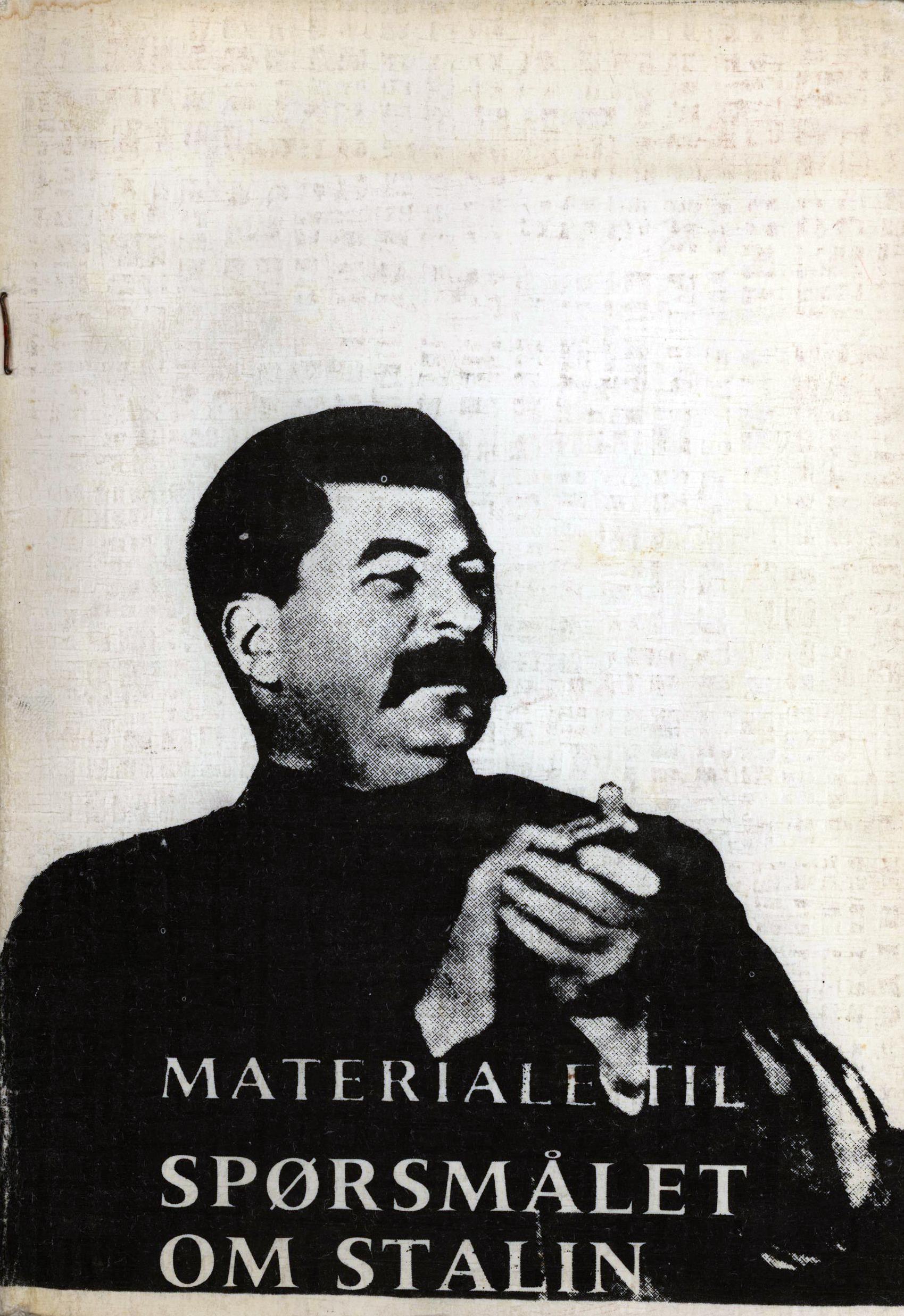 Materiale til spørsmålet om Stalin