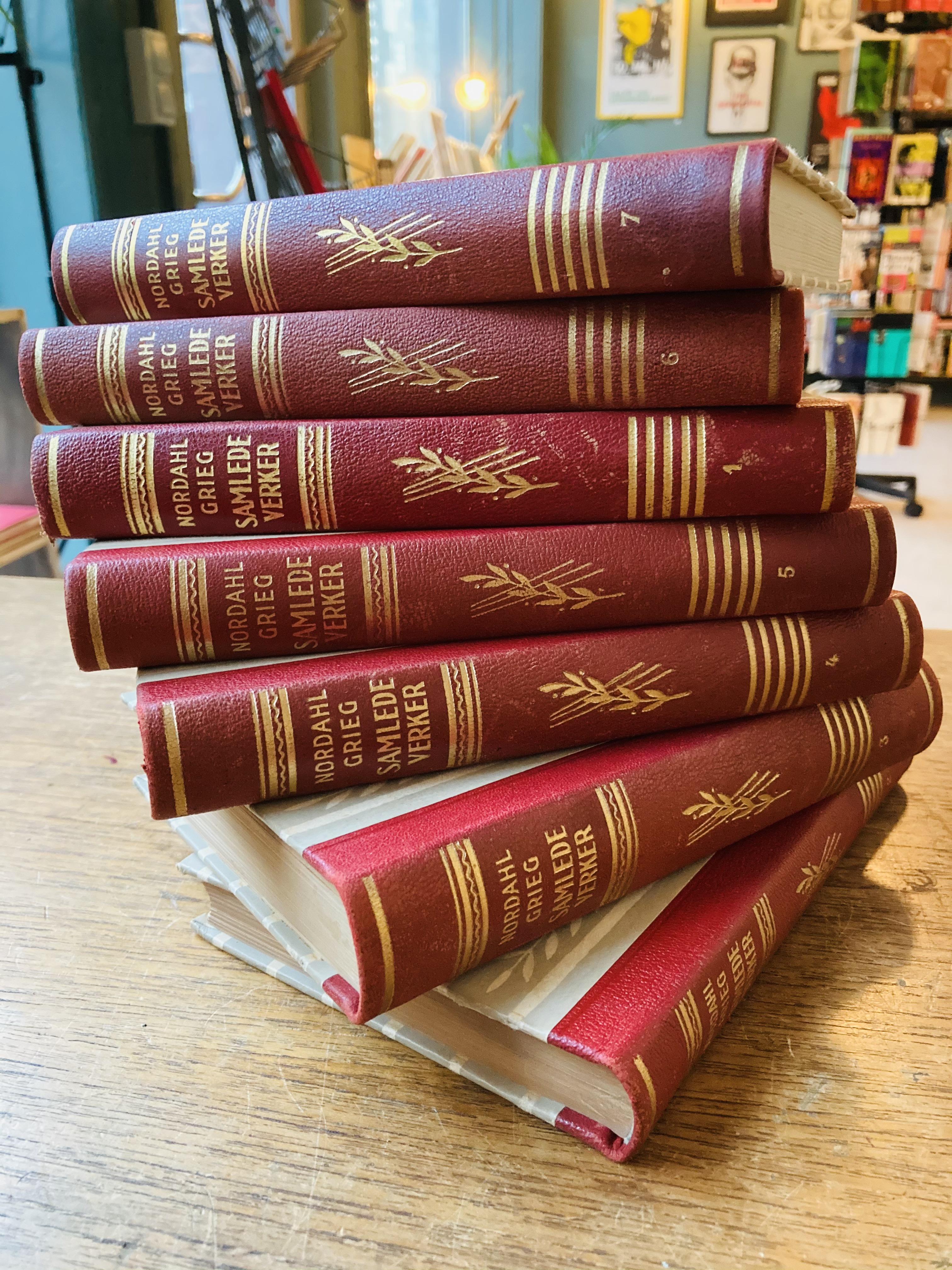 Nordahl Grieg: Samlede verker - Bind I-VII