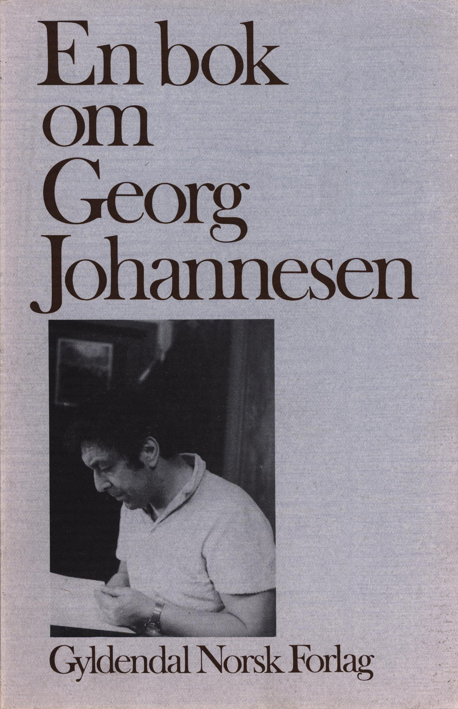 Diverse forfattere: En bok om Georg Johannesen