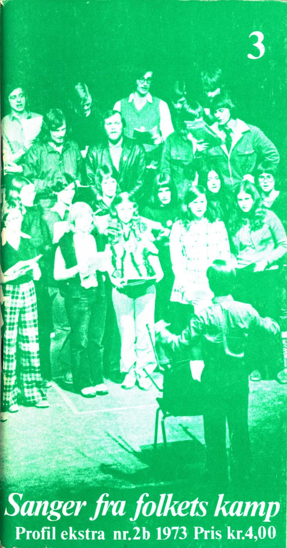 Sanger fra folkets kamp - Profil ekstra nr. 2b 1973