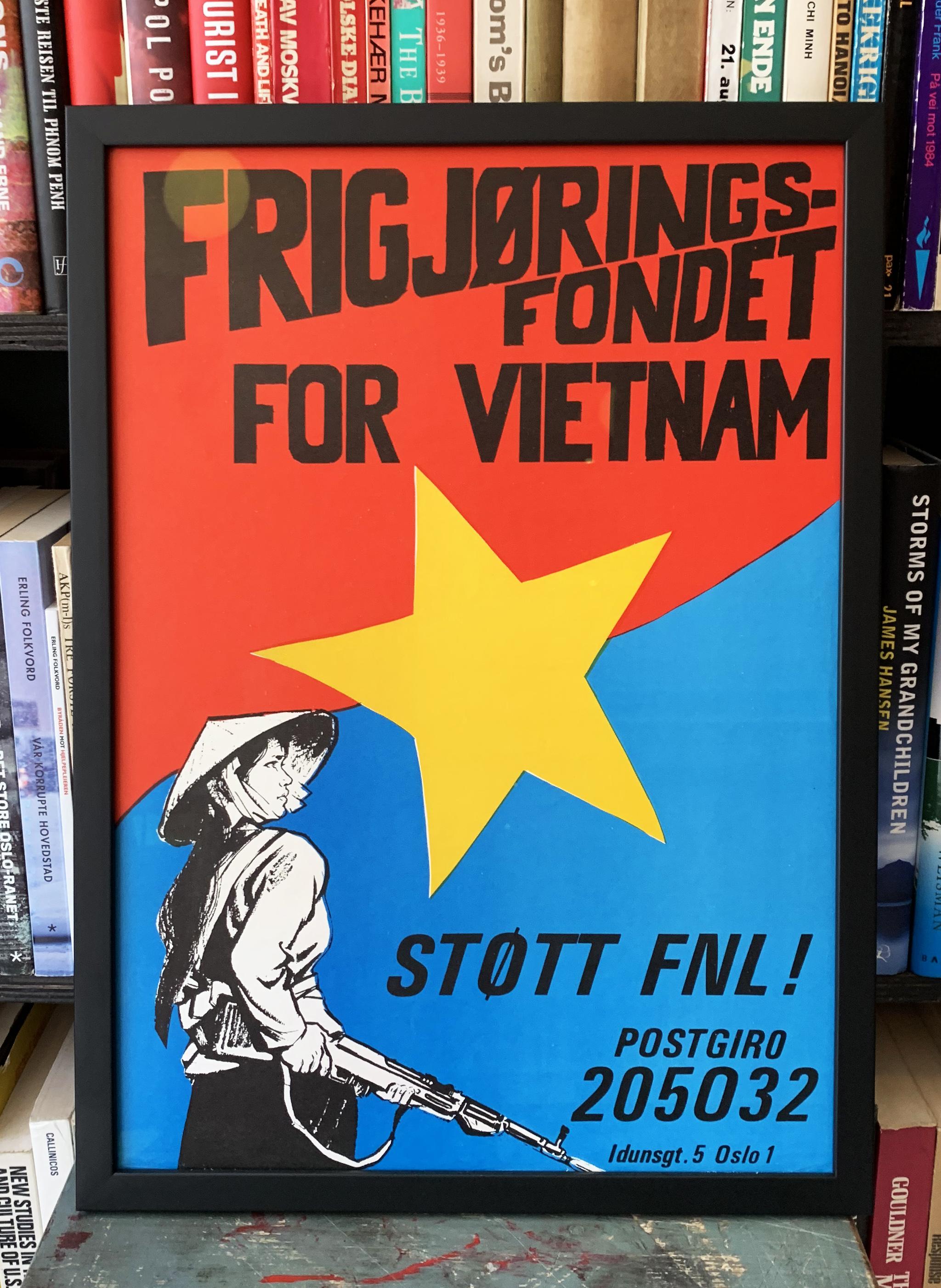 Frigjøringsfondet for Vietnam - Støtt FNL! (ca. 1969)