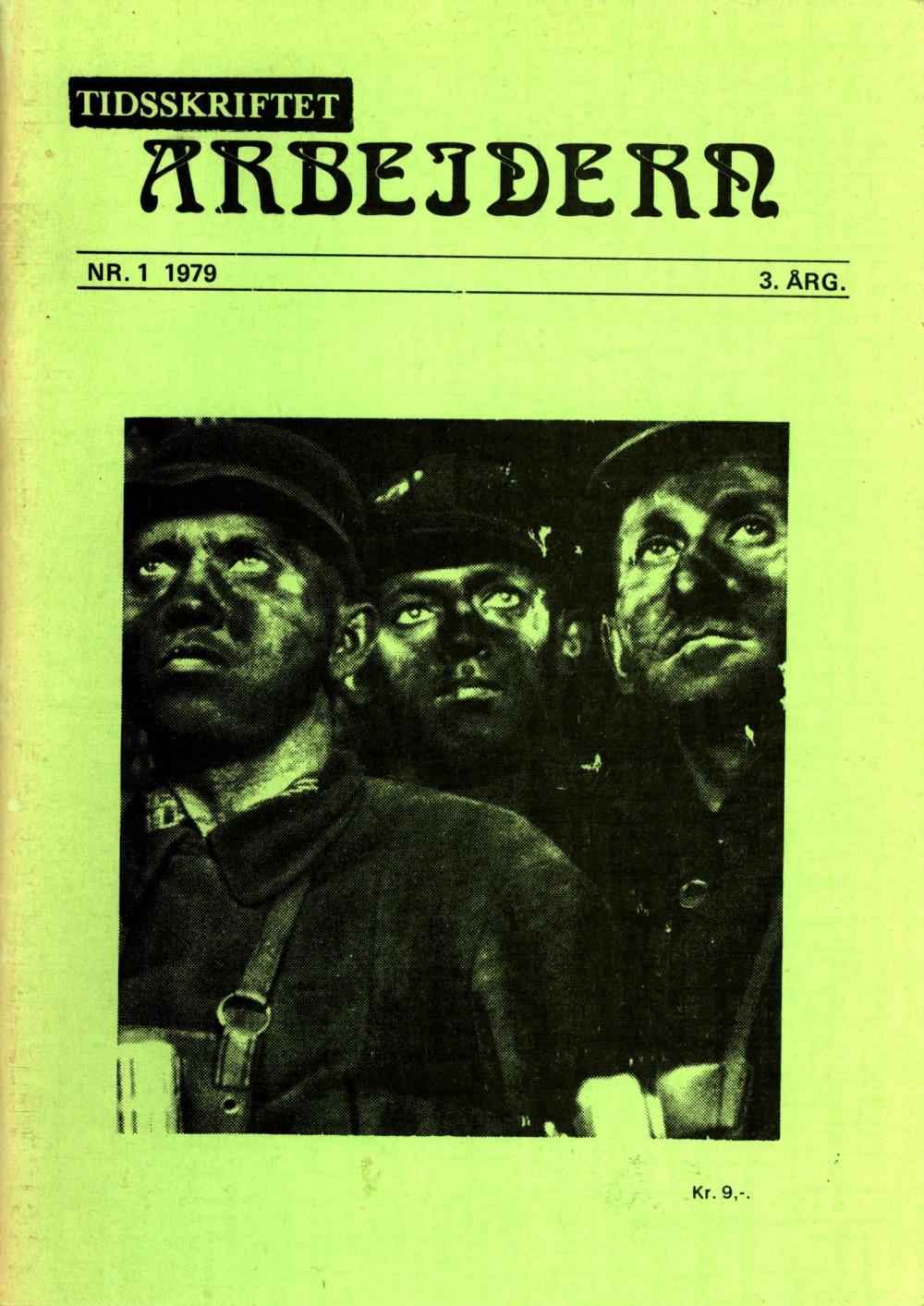 Tidsskriftet Arbeidern - nr. 1 1979