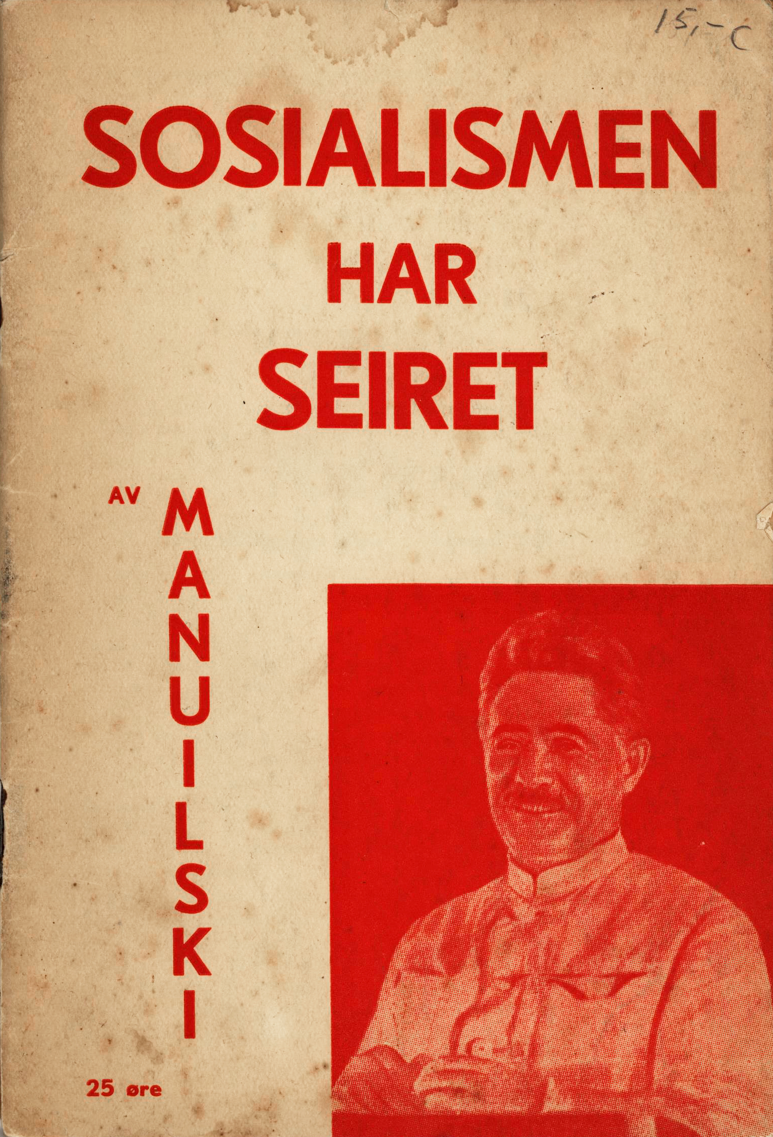 D. Manuilski: Sosialismen har seiret