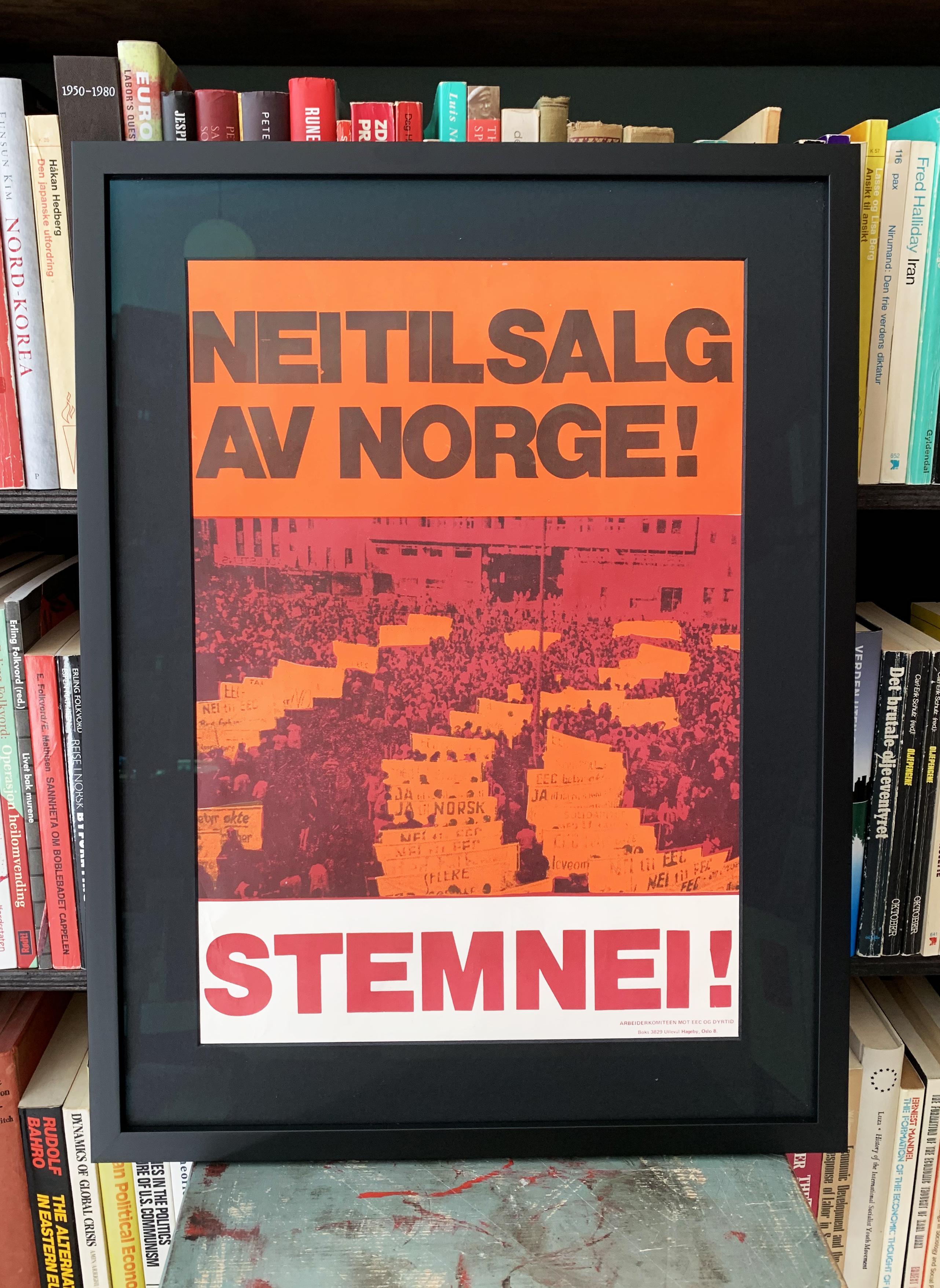 Nei til salg av Norge! Stem nei! (1972)
