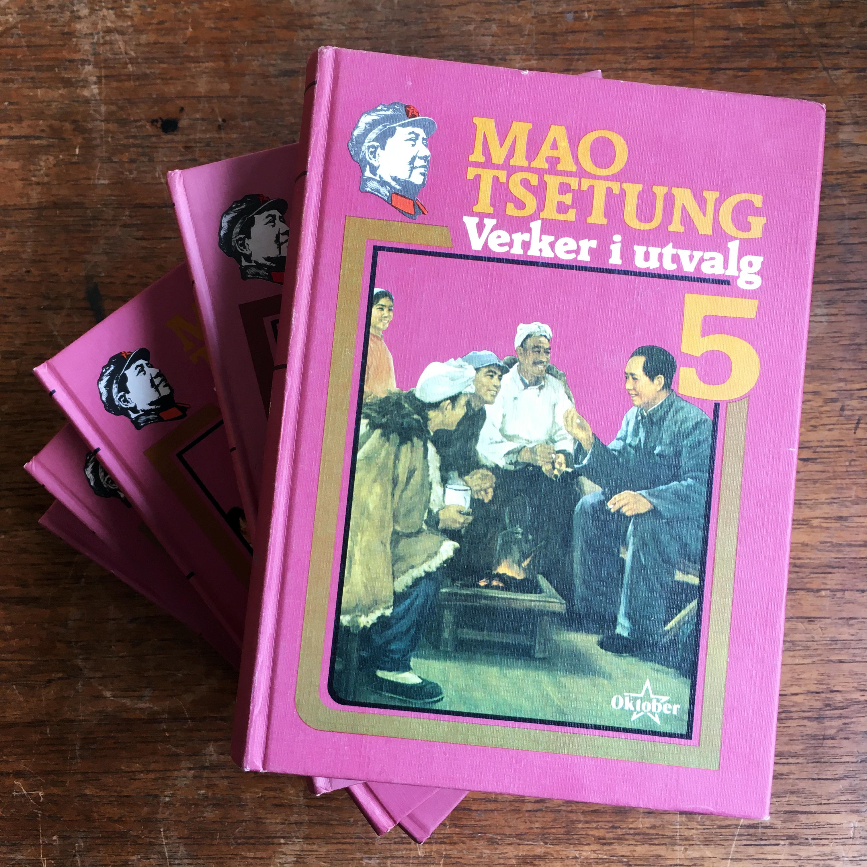 Mao Tsetungs verker i utvalg - Bind I-V