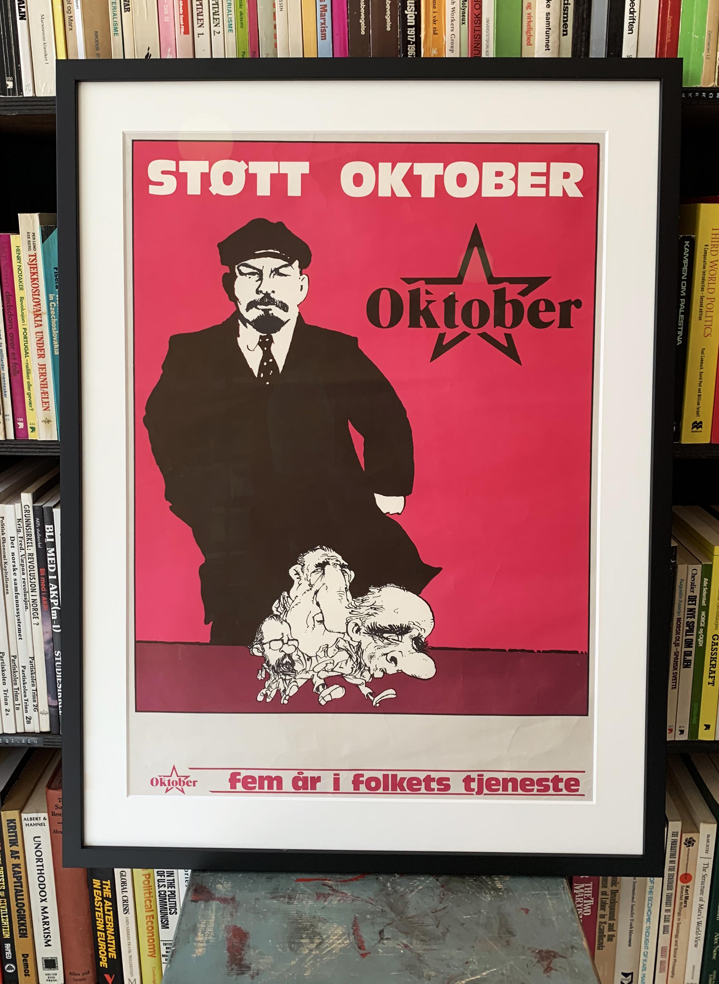 Støtt Oktober - Fem år i folkets tjeneste (1975)