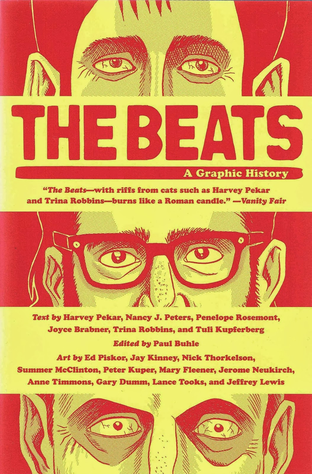 Harvey Pekar, Paul Buhle (red): The Beats - A Graphic History