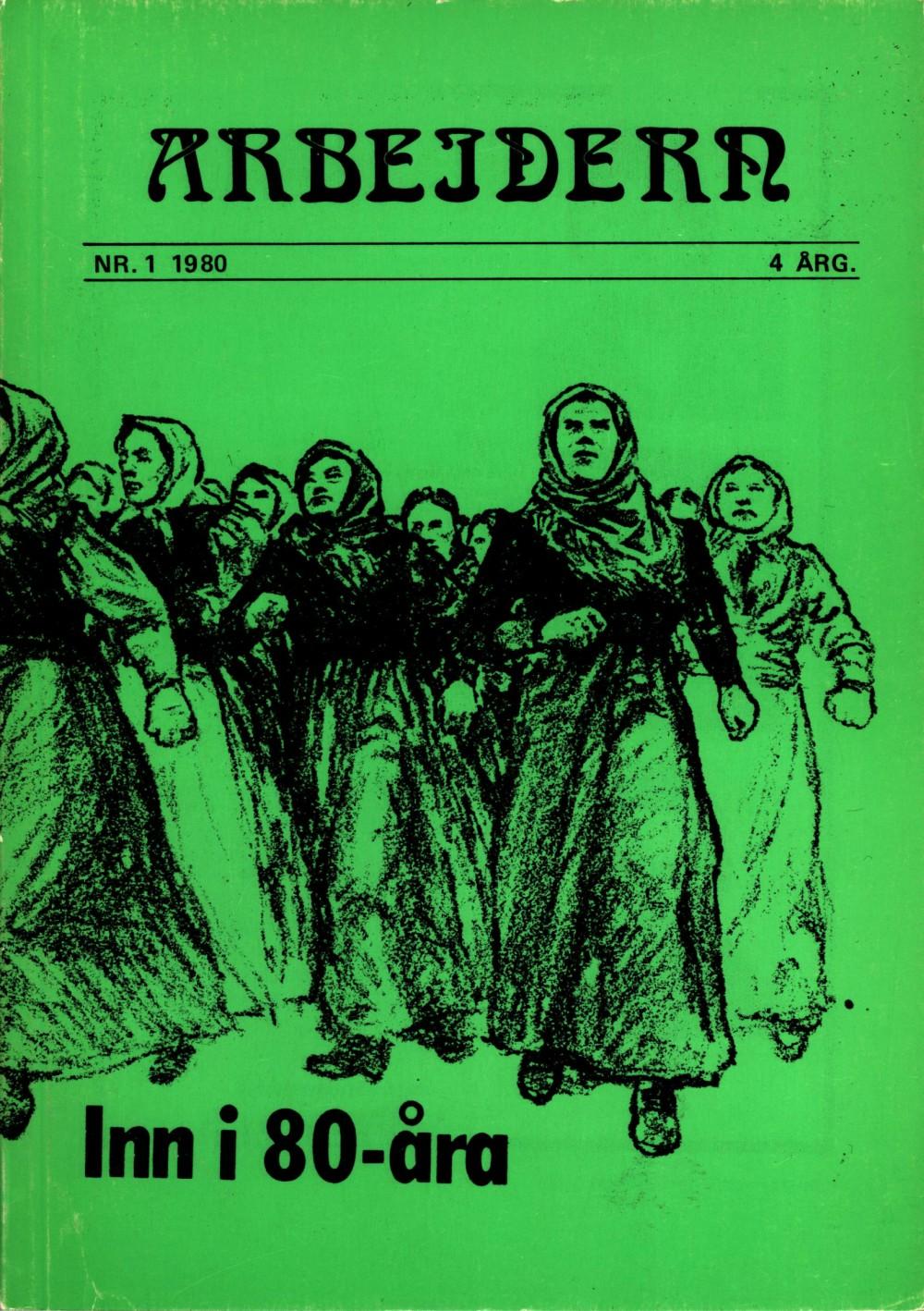 Tidsskriftet Arbeidern - nr. 1 1980
