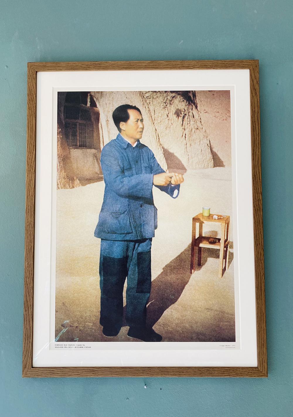 Mao Tsetung taler i Yenan (1975)
