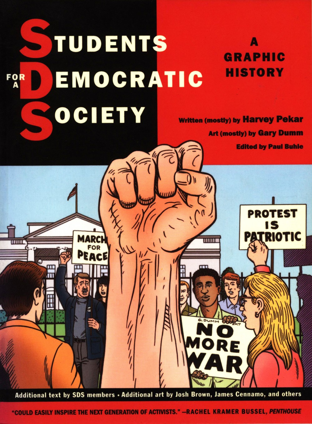 Harvey Pekar, Gary Dumm, Paul Buhle: Students for a Democratic Society - A Graphic History