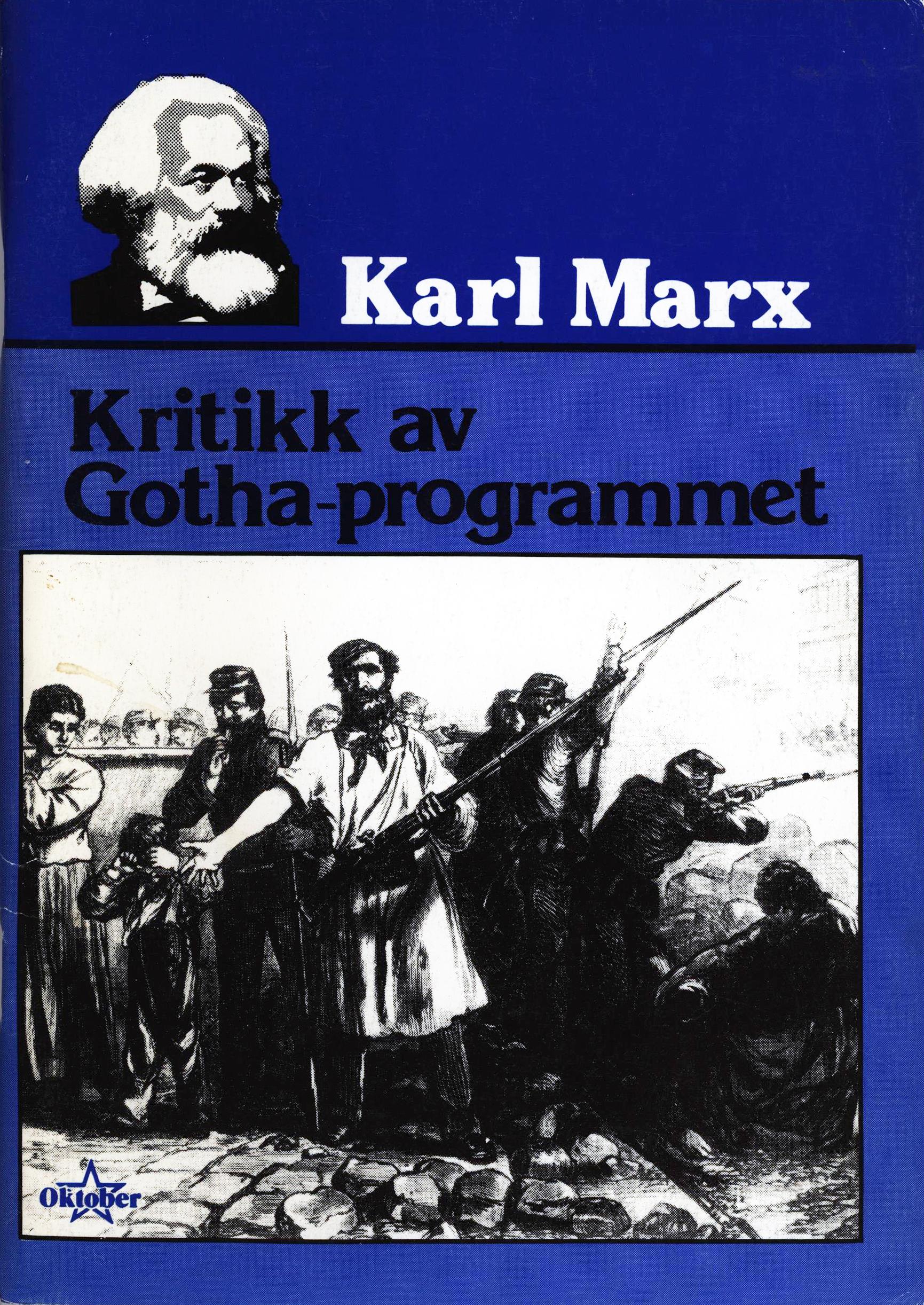 Karl Marx: Kritikk av Gotha-programmet