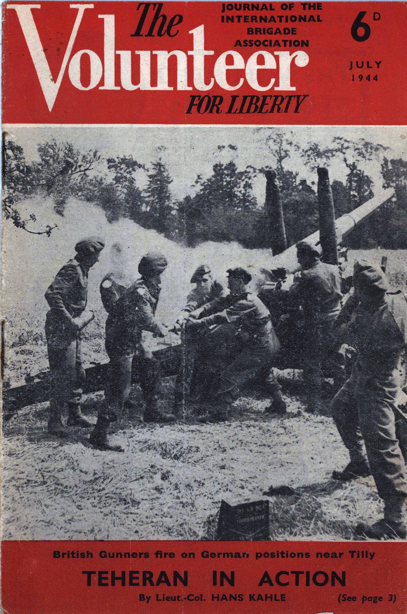 The Volunteer for Liberty 6d July 1944