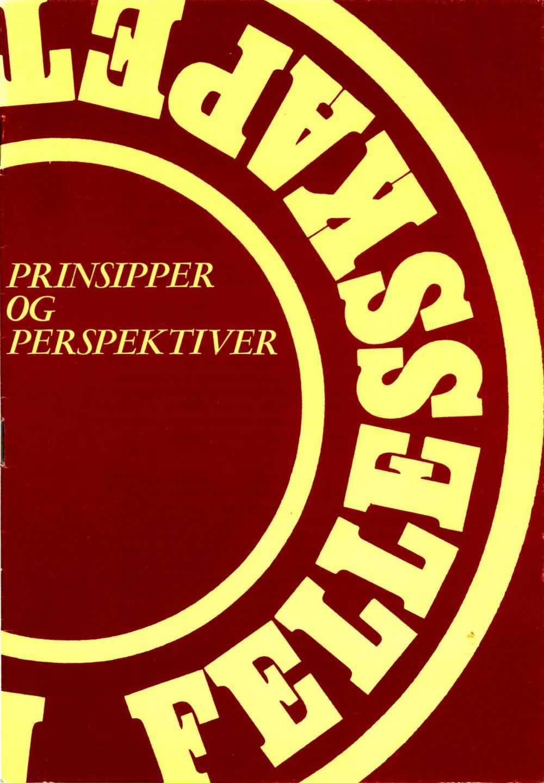 Prinsipper og perspektiver - Arbeiderpartiets prinsipprogram 1970-1973