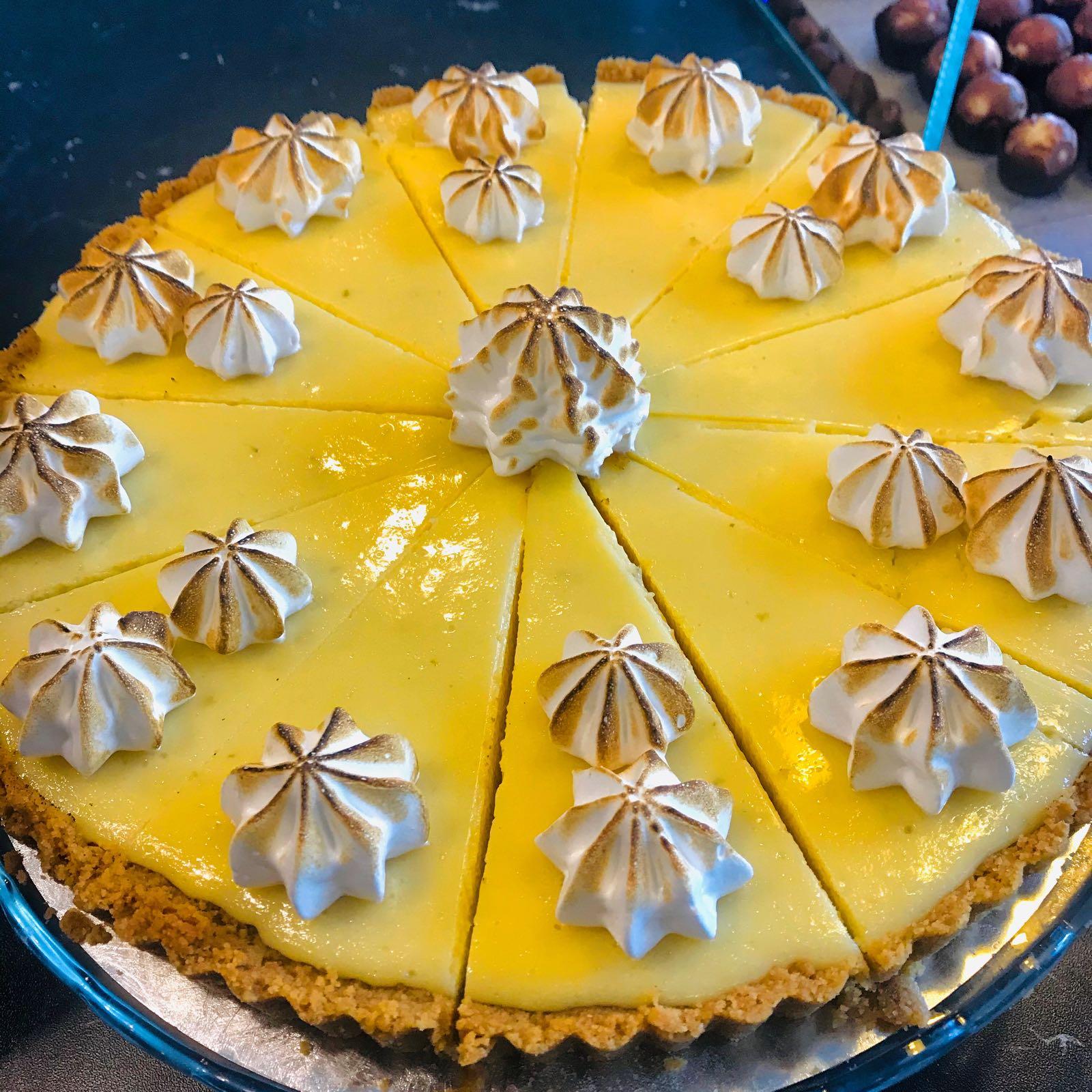 Key Lime Pie 6-8 bitar