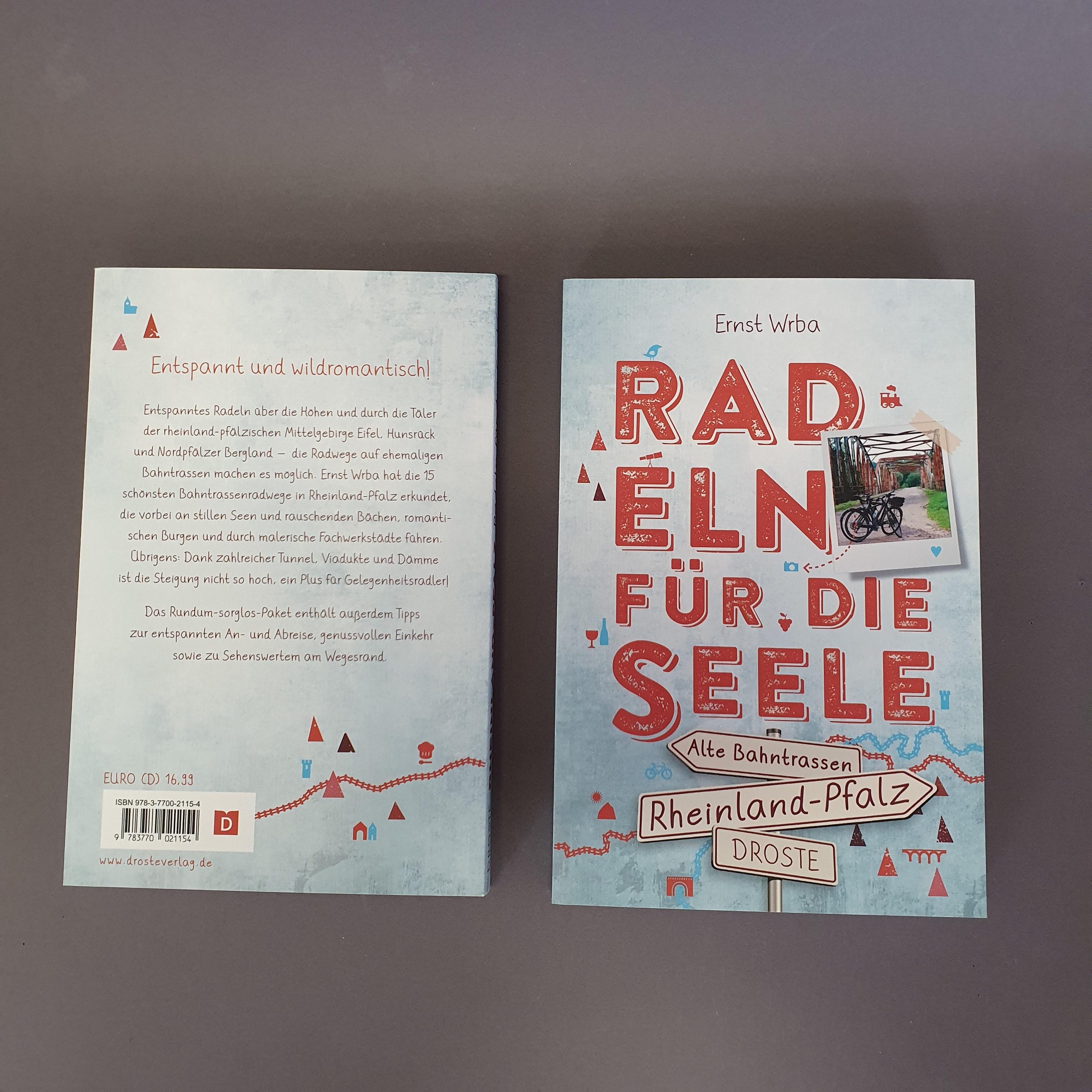 """Buch """"Radeln für die Seele. Rheinland-Pfalz"""" von Ernst Wrba"""