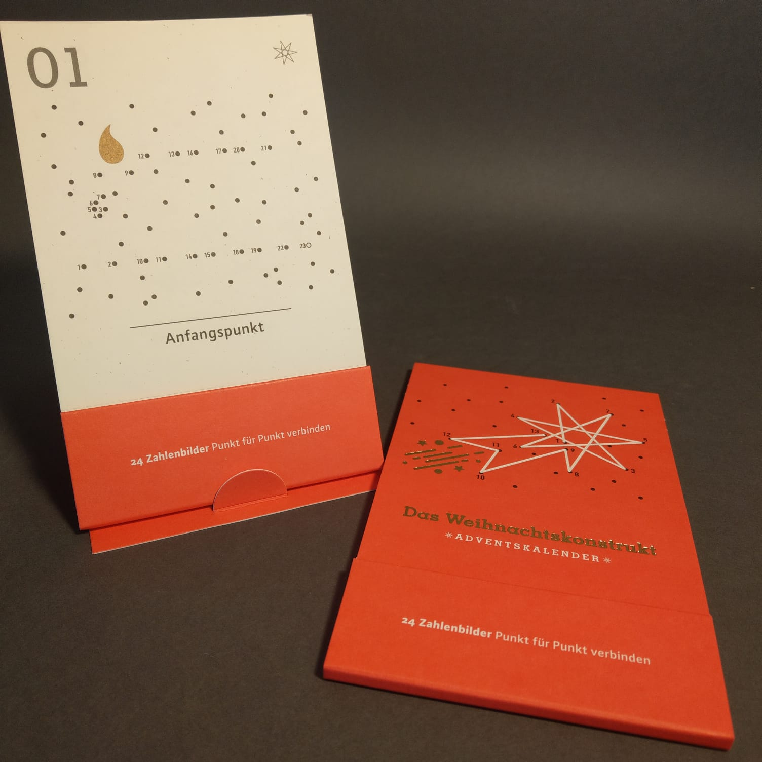 """Adventskalender """"Das Weihnachtskonstrukt"""""""