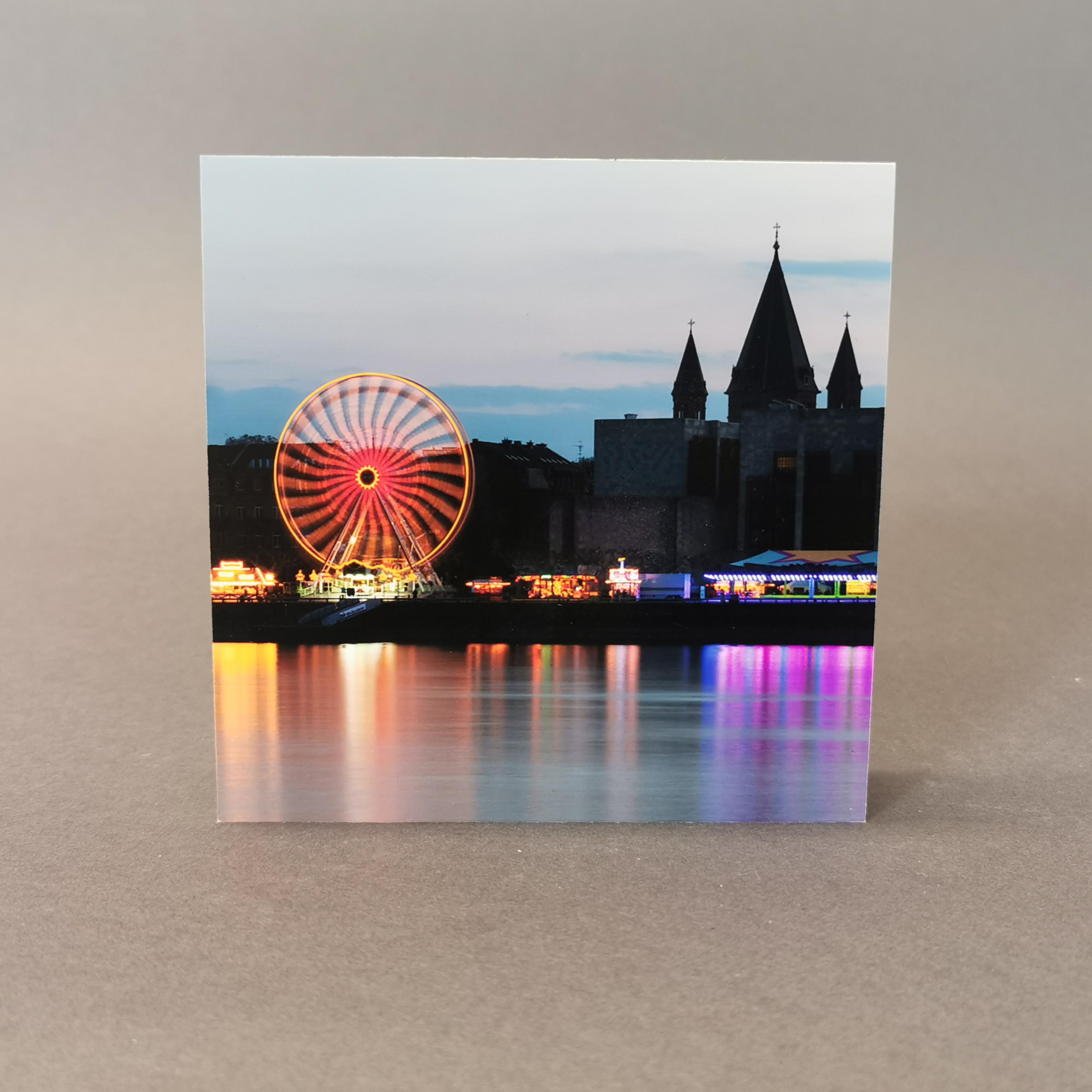 Block Fotoserie Mainz im Quadrat